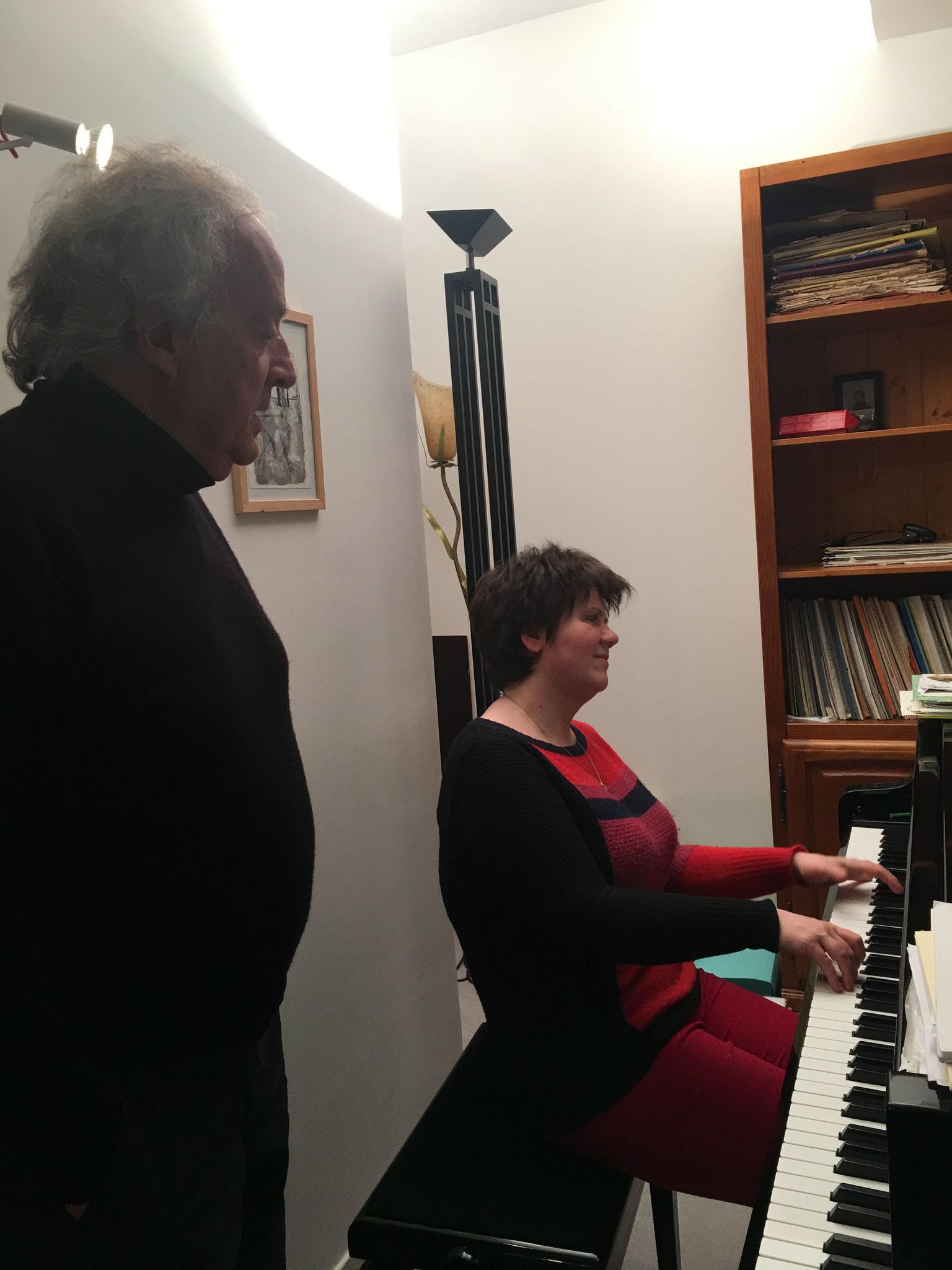Jean-Pierre Armanet et Dana Ciocarlie