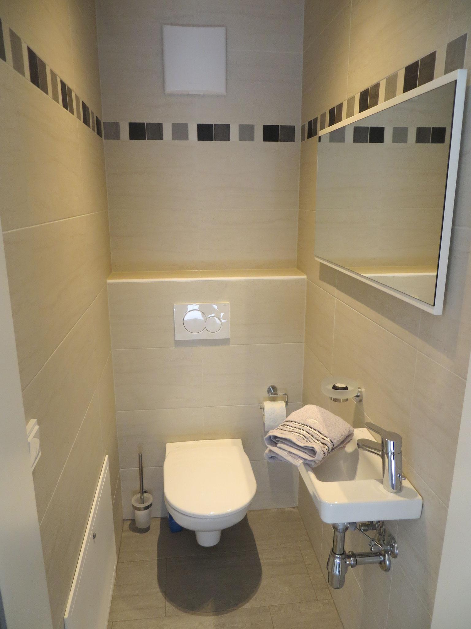 Separates Gäste-WC
