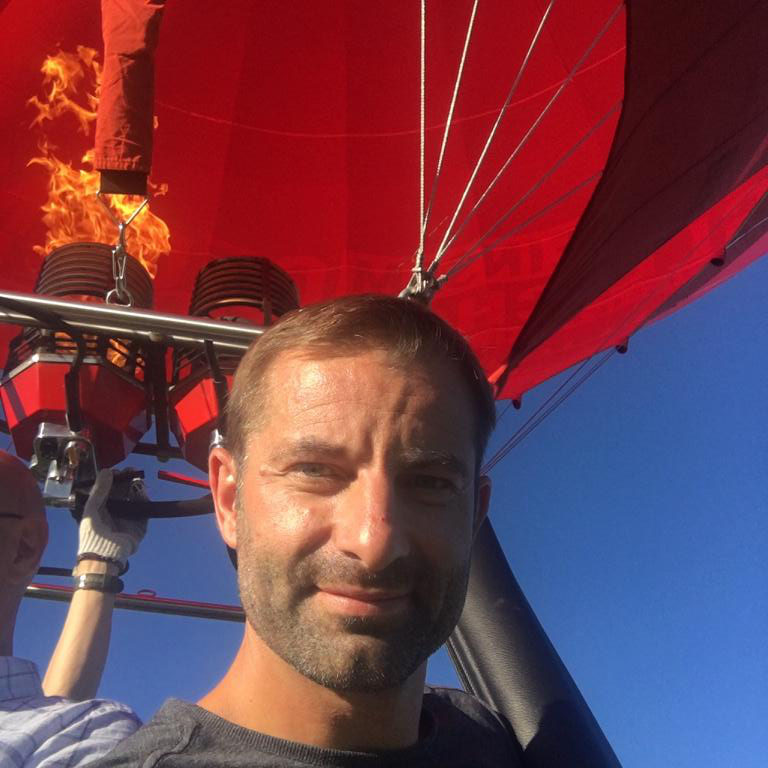 Ballonfahrt über dem Voralpenland im September 2018