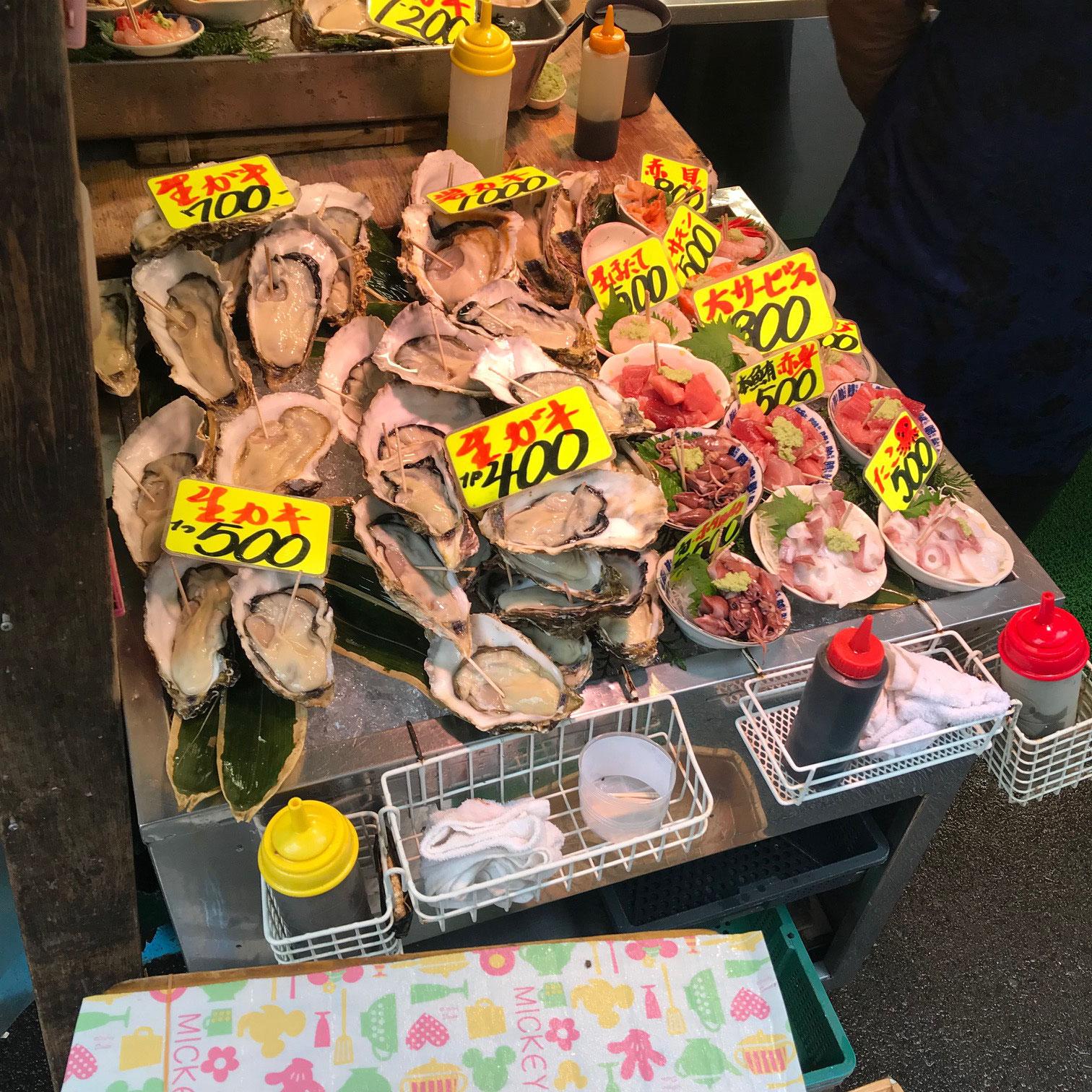 Muscheln über Muscheln