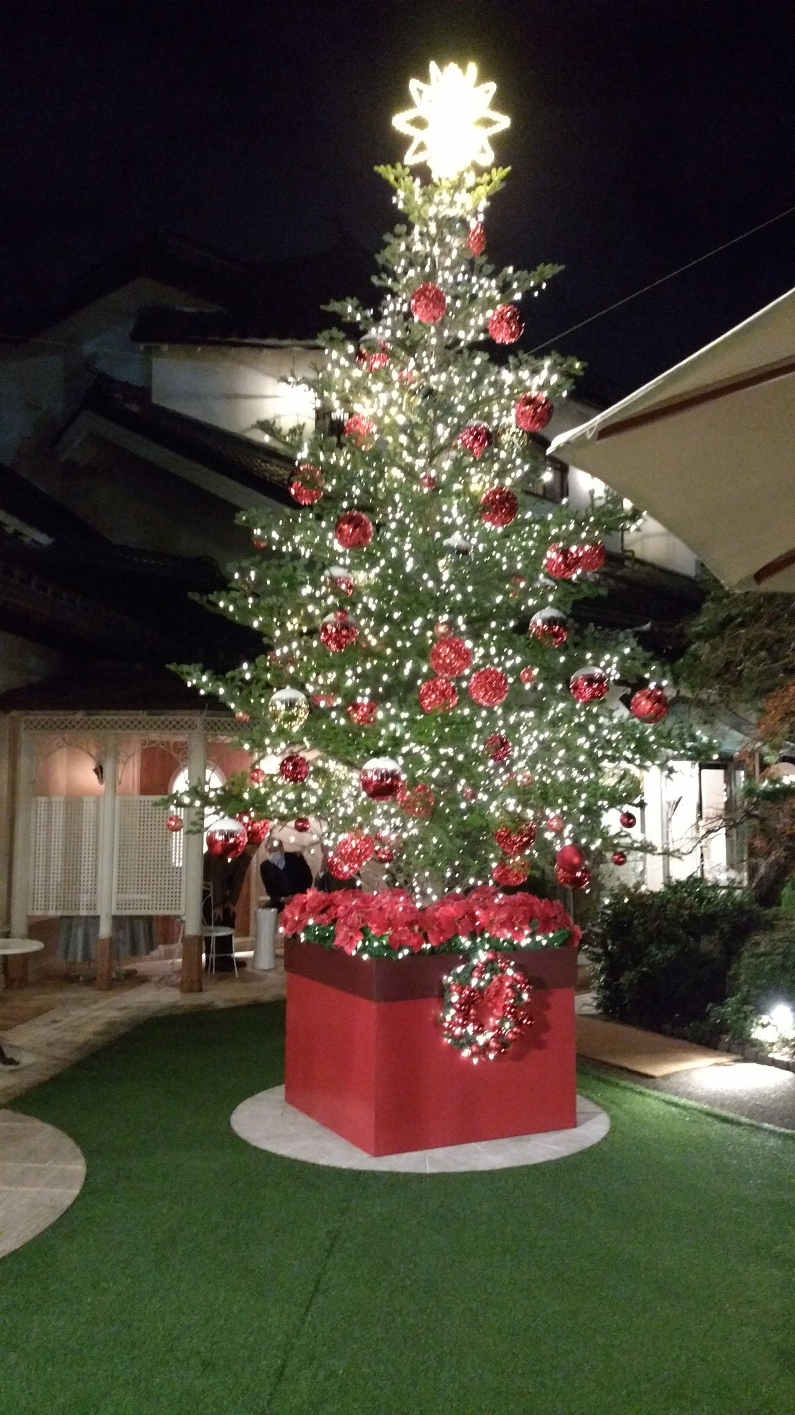 うかい亭 クリスマス ツリー