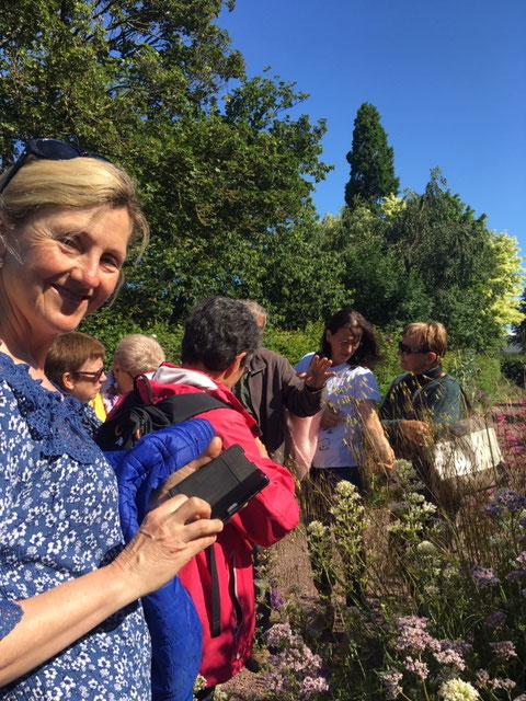 Visite du Jardin de Valérianes