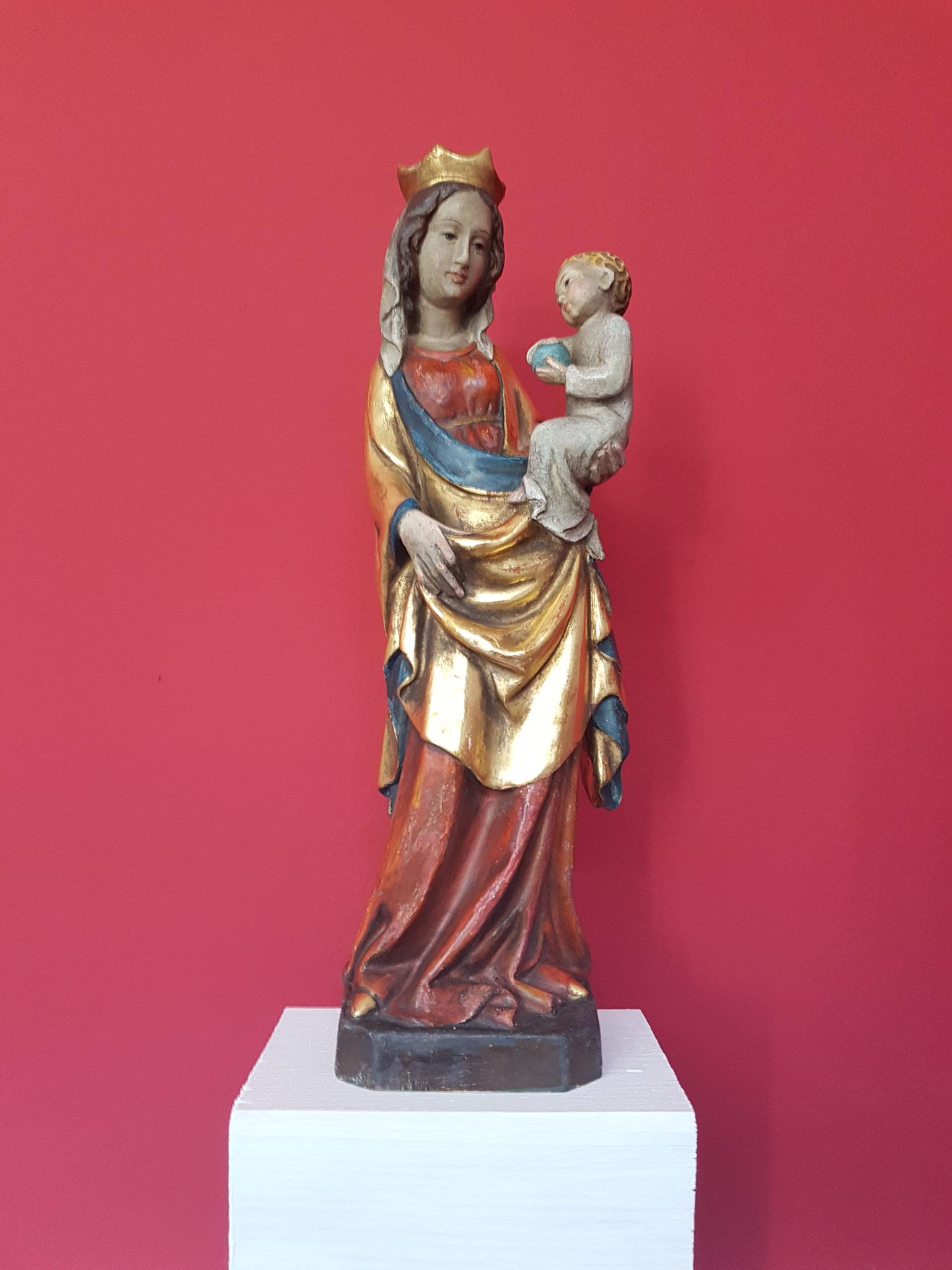 Vergoldung und Restaurierung von Skulpturen