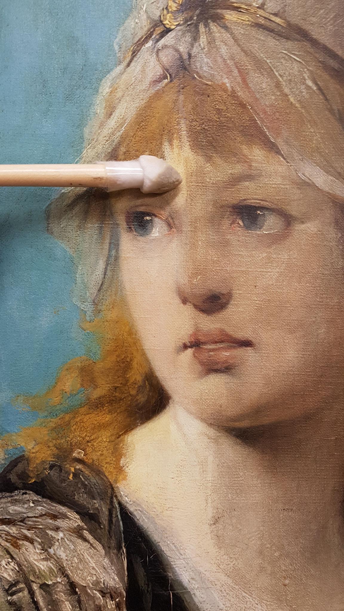 Reinigen von Gemälden
