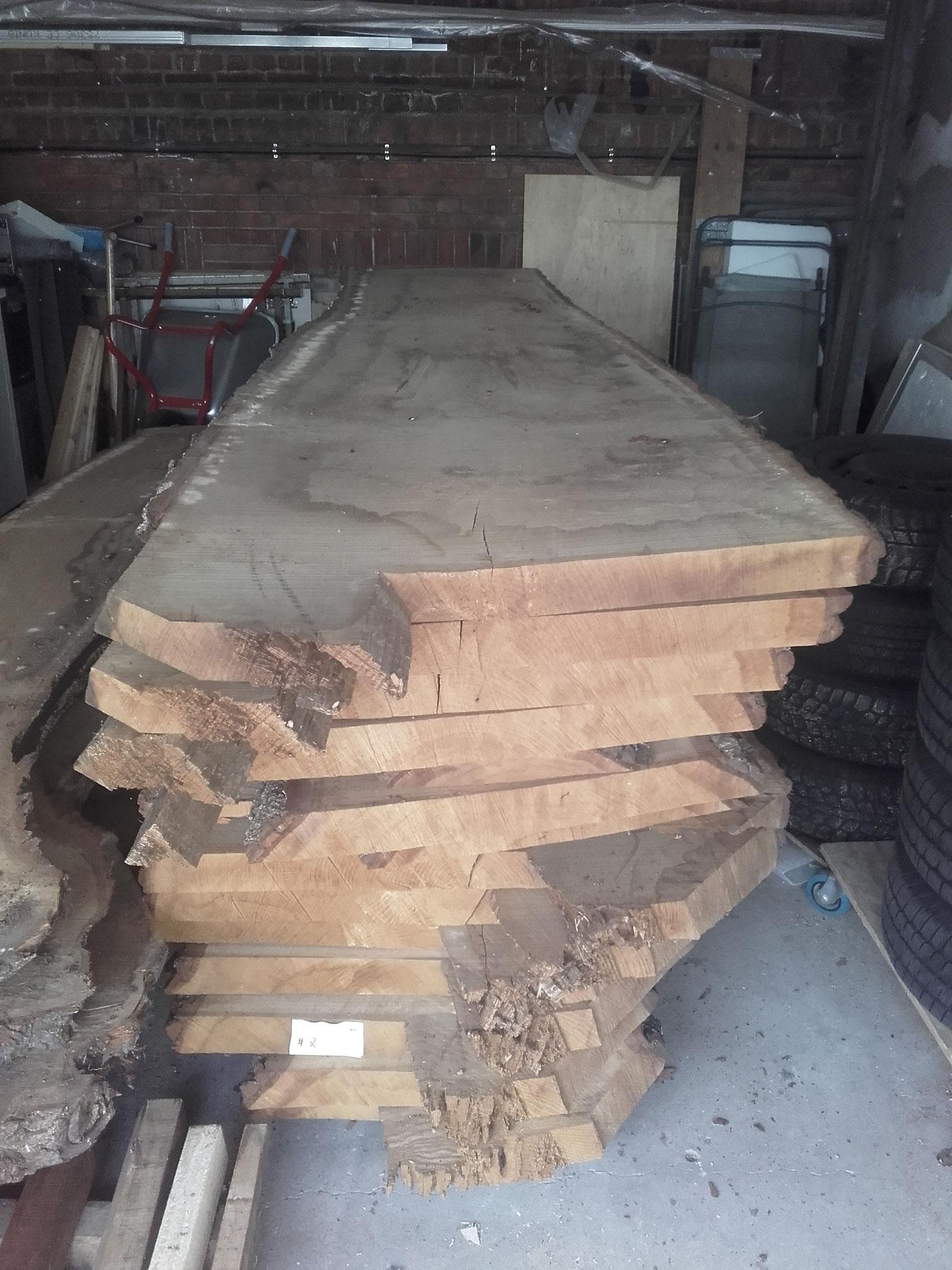 Eichenmöbel gebürstet - dark oak geölt