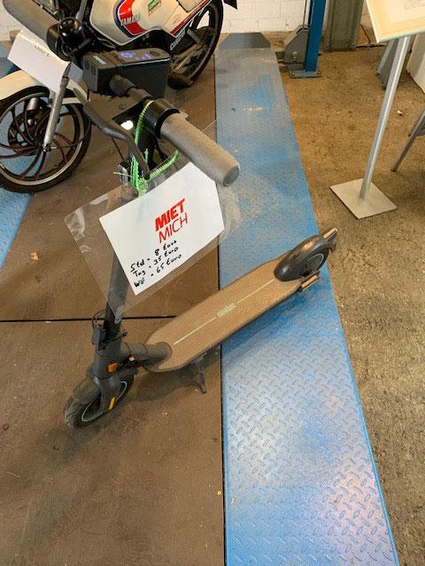 eScooter mieten 120kg belastbar