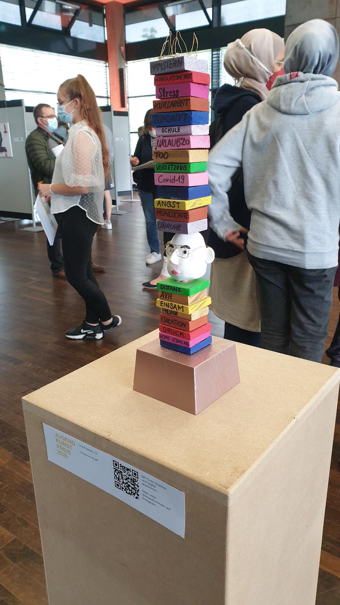 """3. Preis Lina Franken """"Chaos im Kopf"""""""