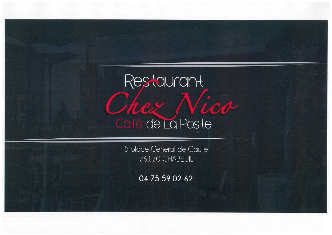Chez Nico-Café de la poste