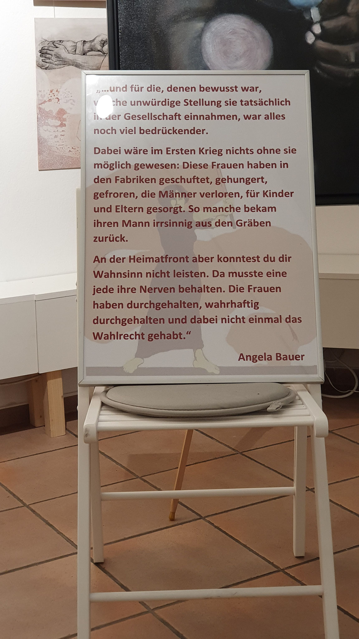 Text von Angela Bauer