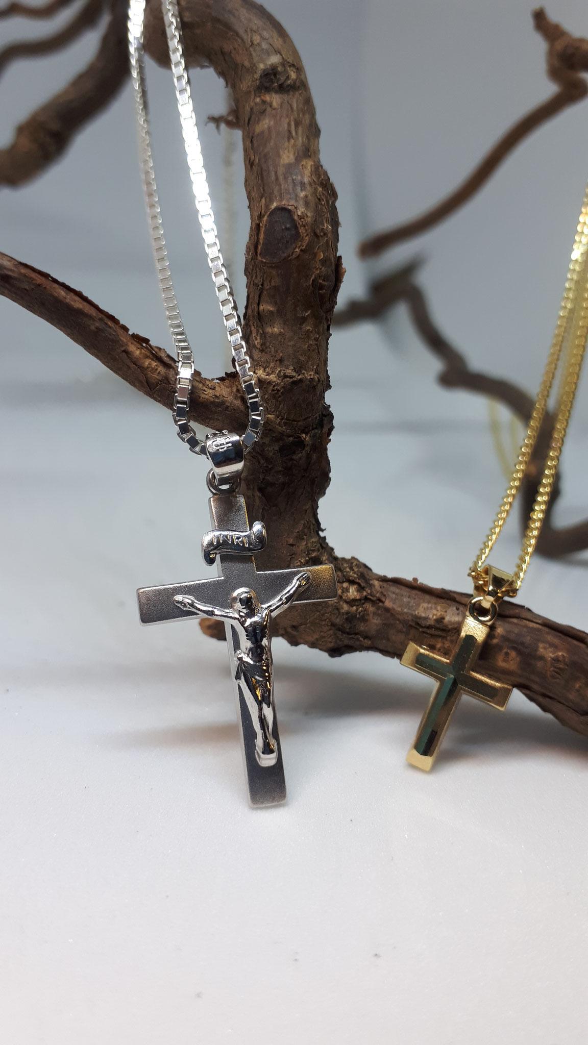 Schmuck Anhänger Kreuze