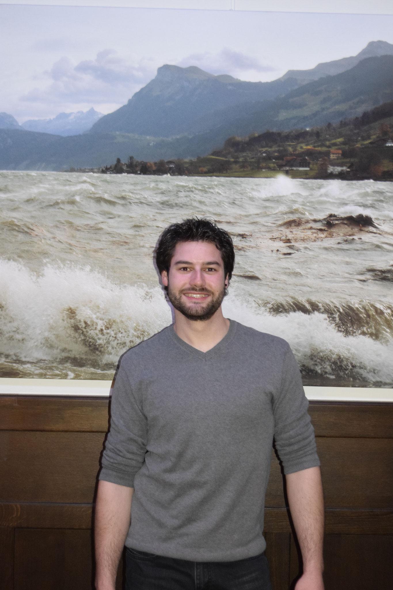 Vize und Sportchef: Alessandro Scherrer