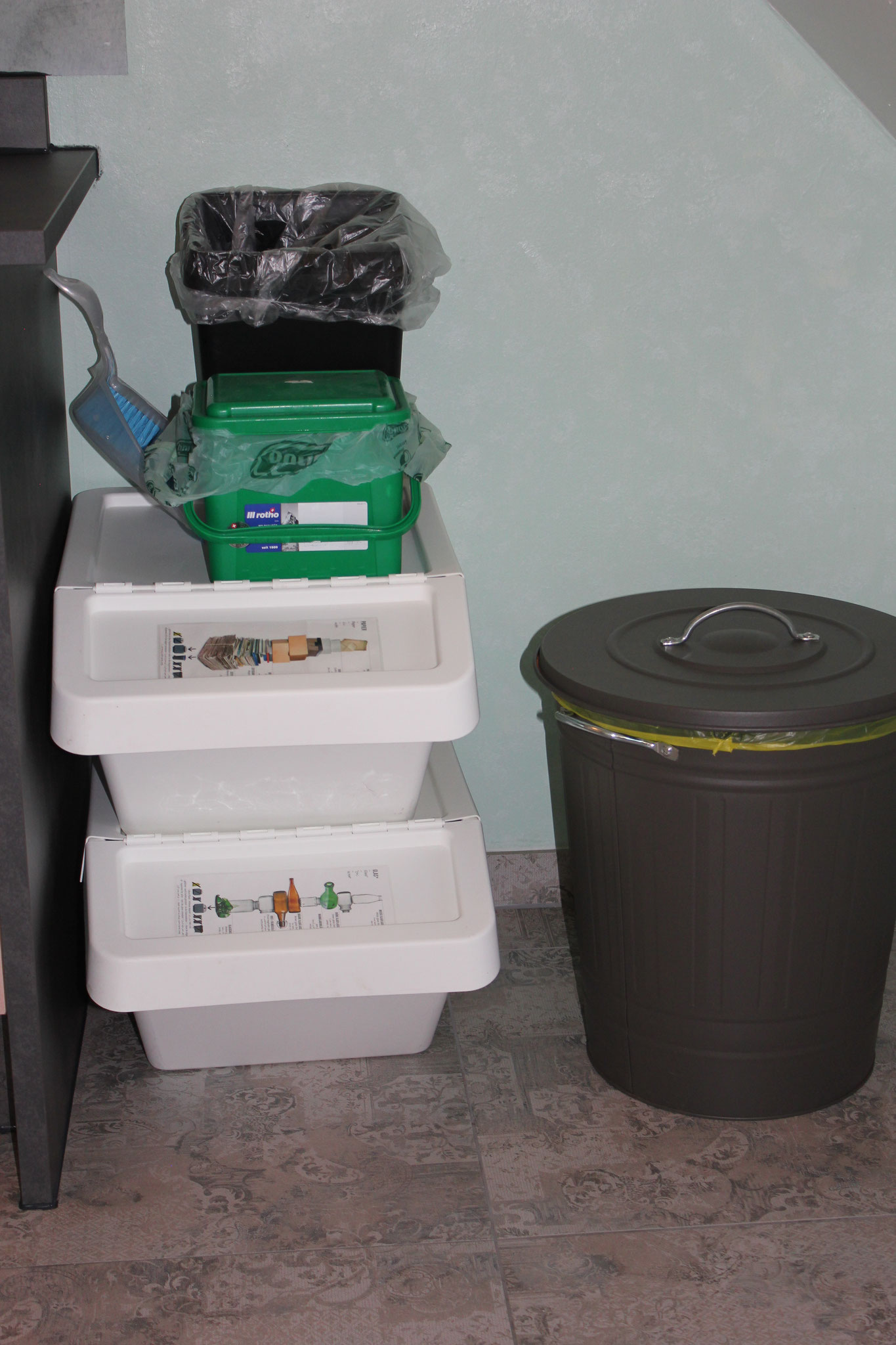 Mülltrennung wird bei uns großgeschrieben