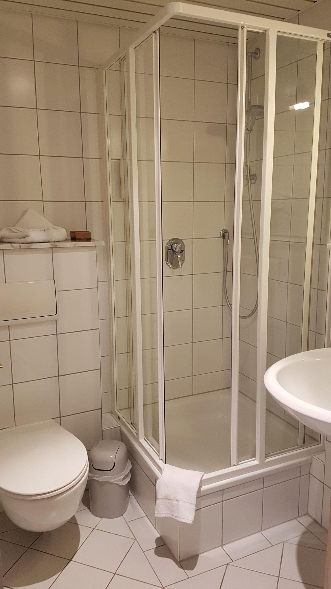 Das kleine Bad.