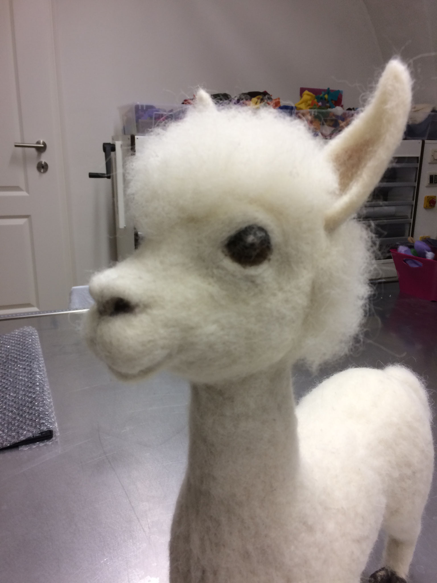 "ConARTdesign by Connie Spiegl, Austria, Alpaca ""Karlo"""