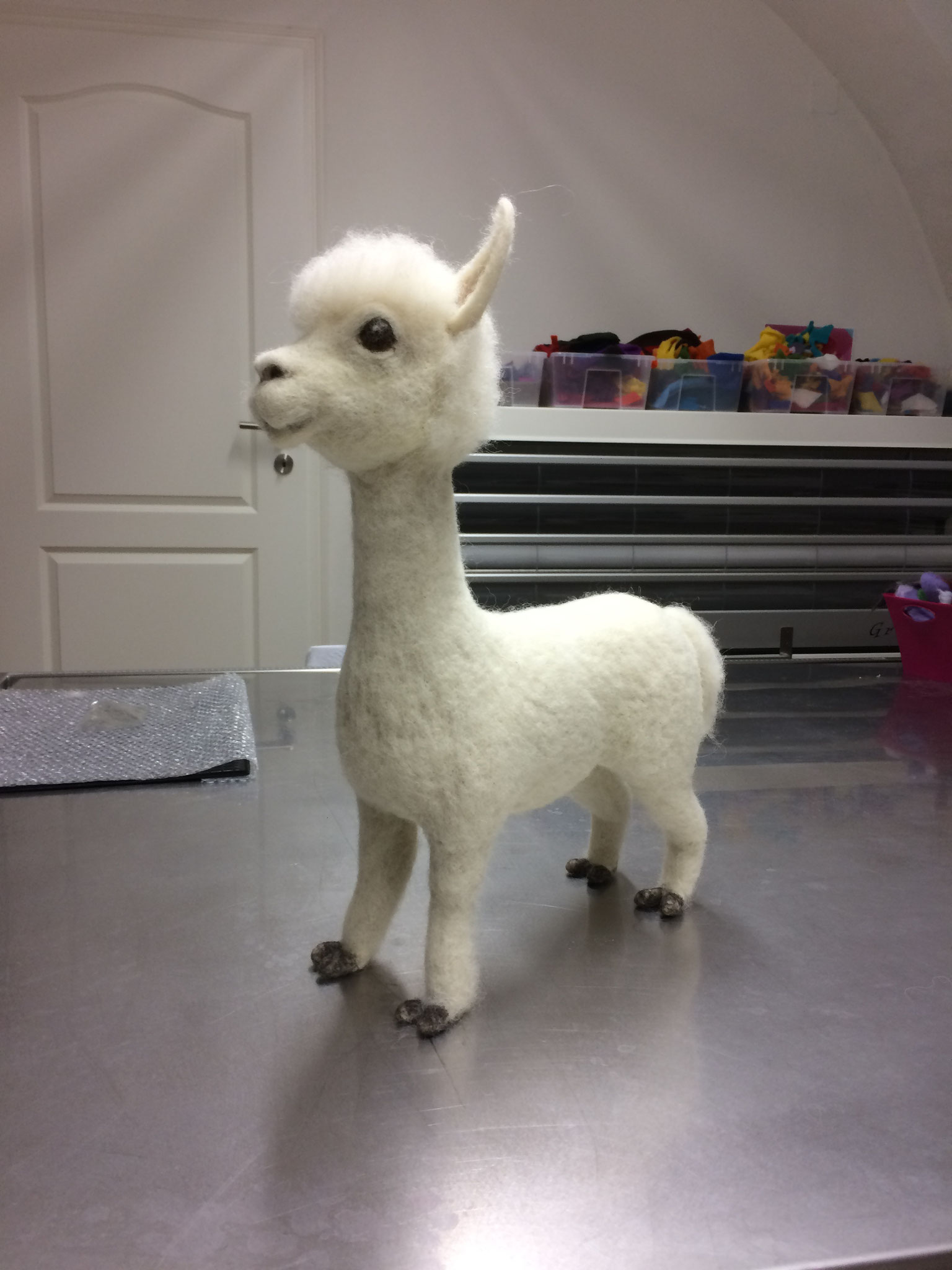 ConARTdesign by Connie Spiegl, Austria, Alpaca gefilzt