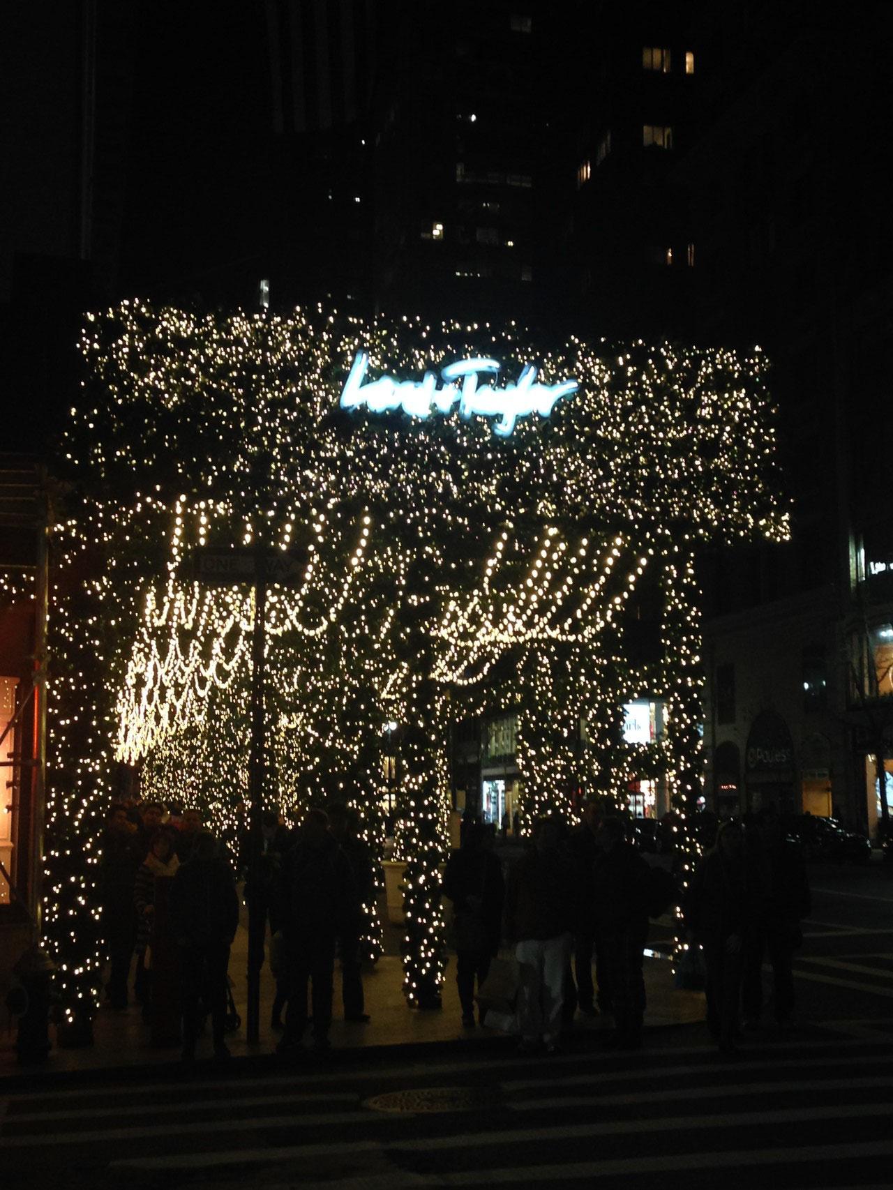 23 Es wird weihnachtlich in New York... - Leonies Au Pair Blog