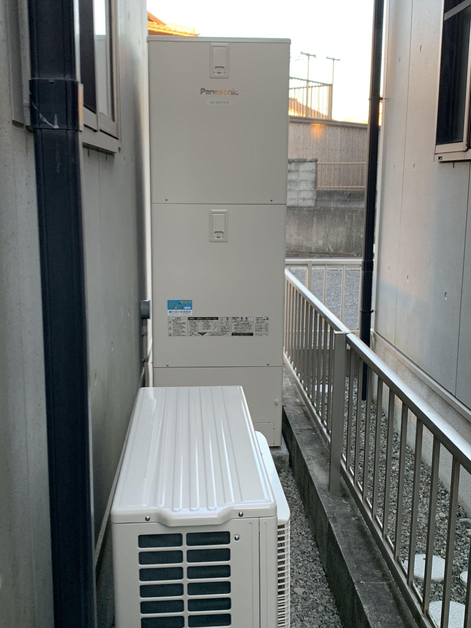 富士市 エコキュート設置工事 パナソニック エコキュート