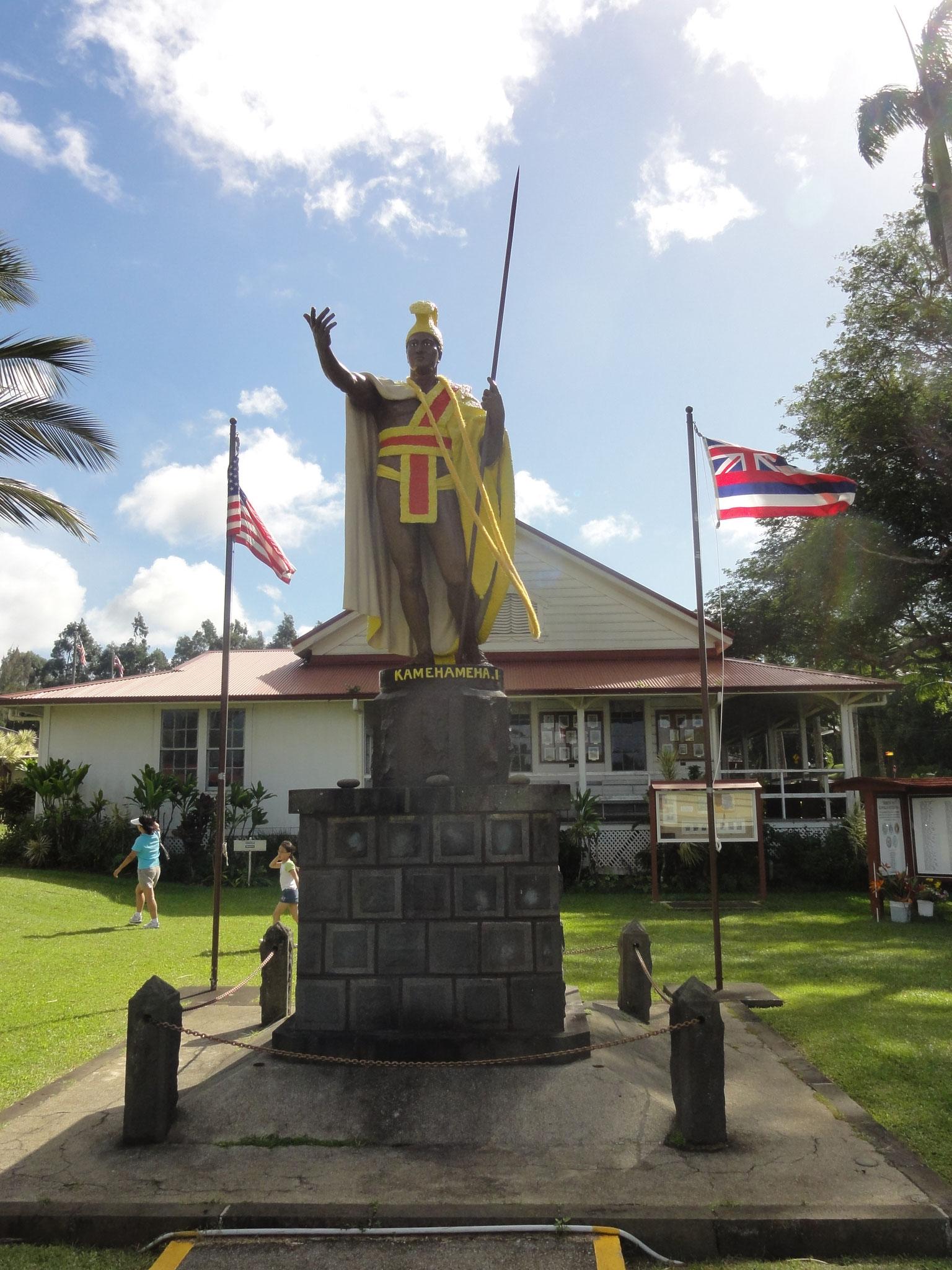 König Kamehameha I in Kapaau