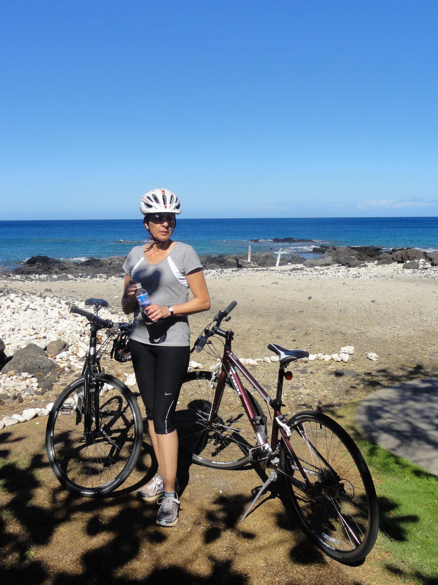 Ausflug mit Hotelbikes zu Puako Petroglyph Archological Preserve
