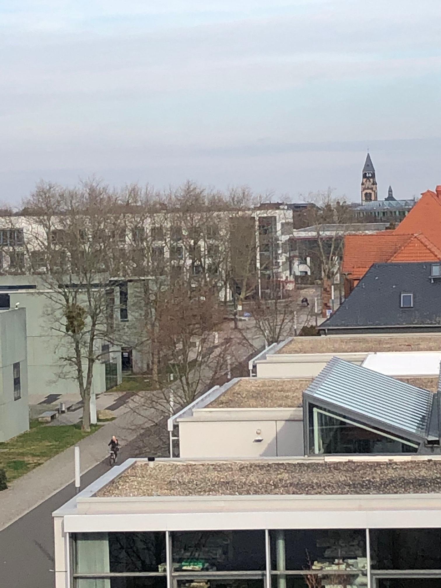 Hochschule Dessau Gelände