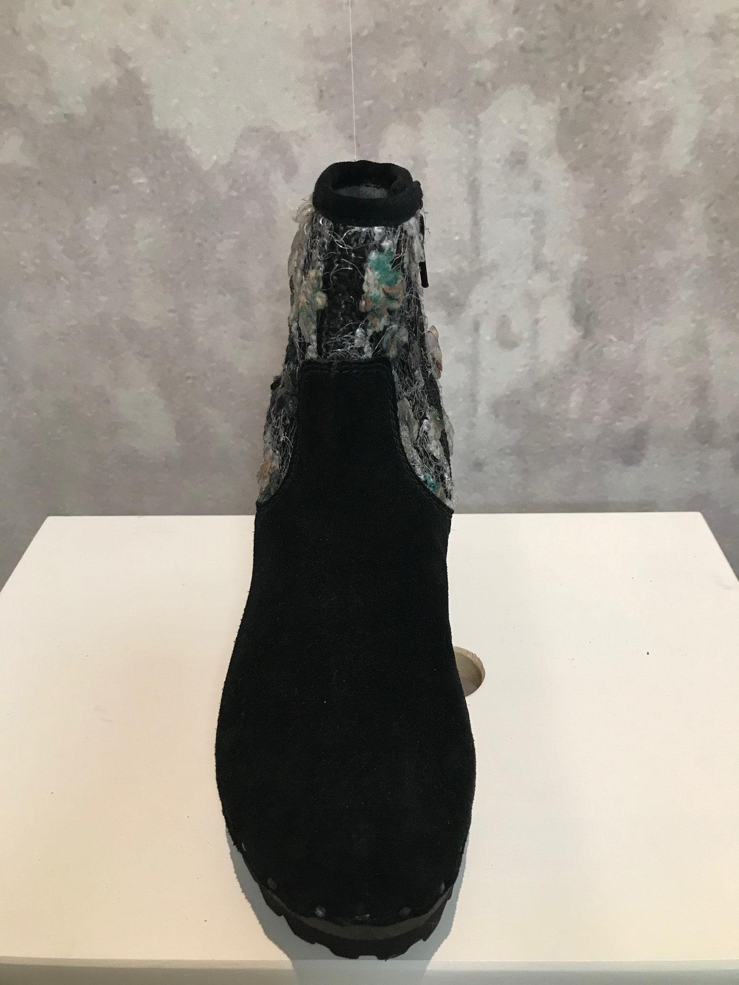 ILEANA Bailey Strick schwarz, Größen 37 / 38 / 39,             UVP 199,95