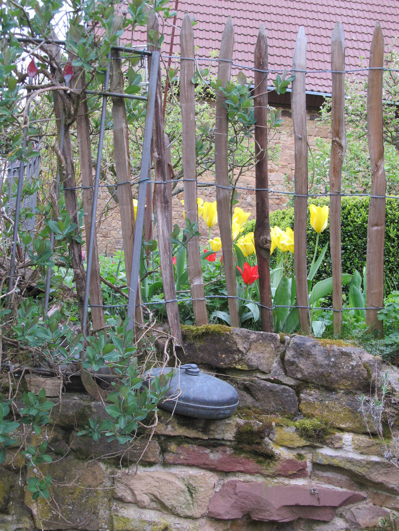 Unser Gartenzaun