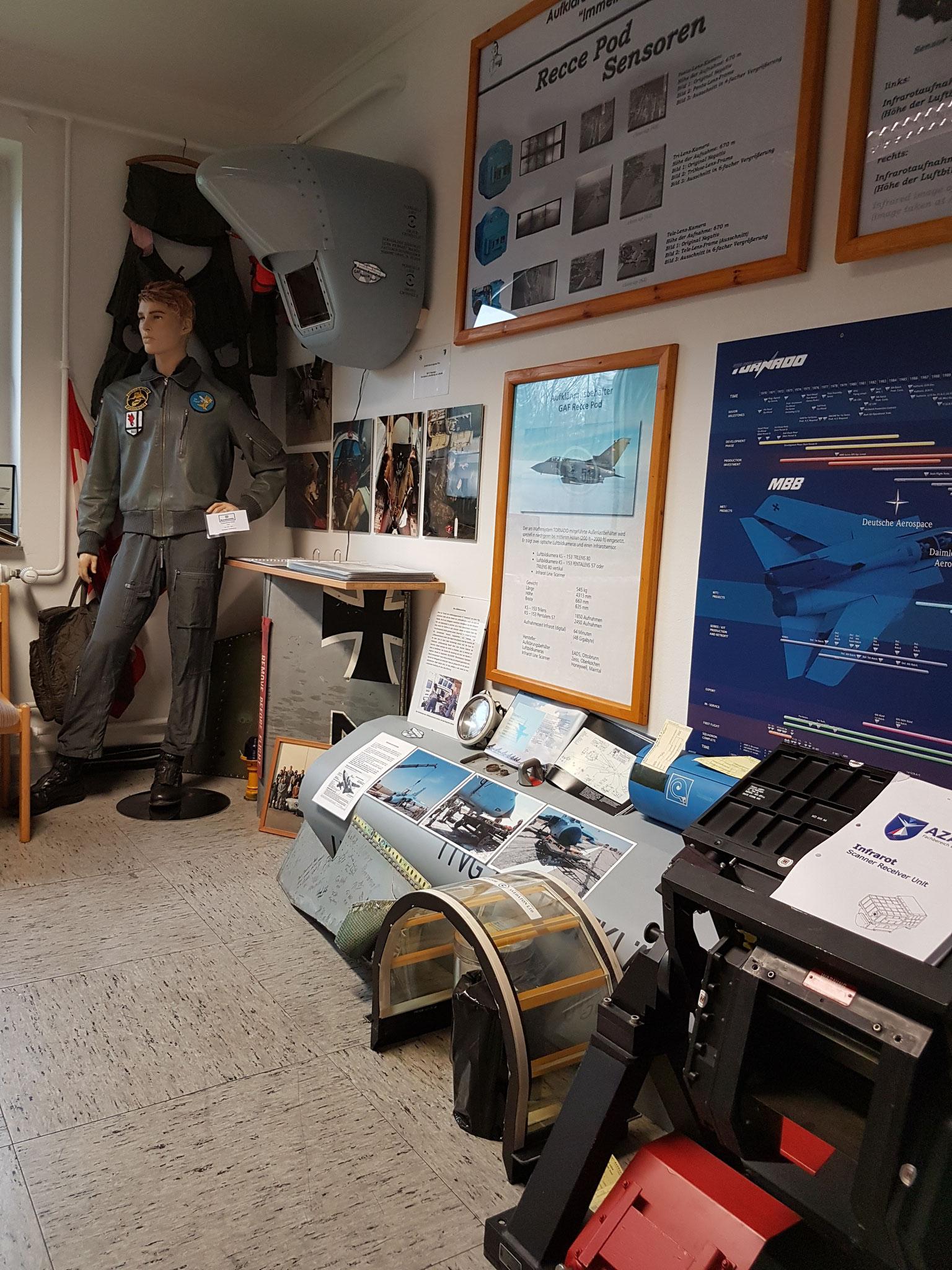 Ausstellungsabschnitt 8 - Die Geschichte der Taktischen Luftaufklärung ab 1994