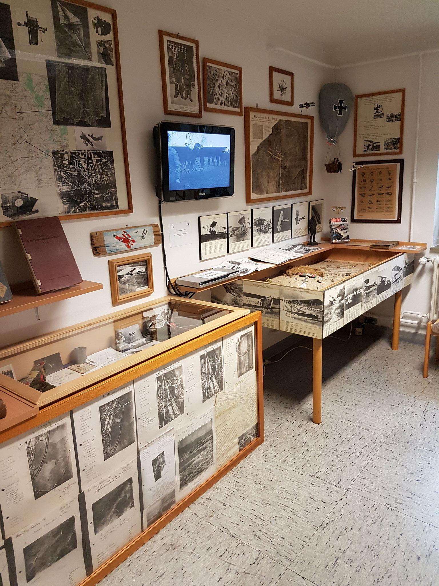Ausstellungsabschnitt 7 - Die Geschichte der Taktischen Luftaufklärung 1914 bis 1945