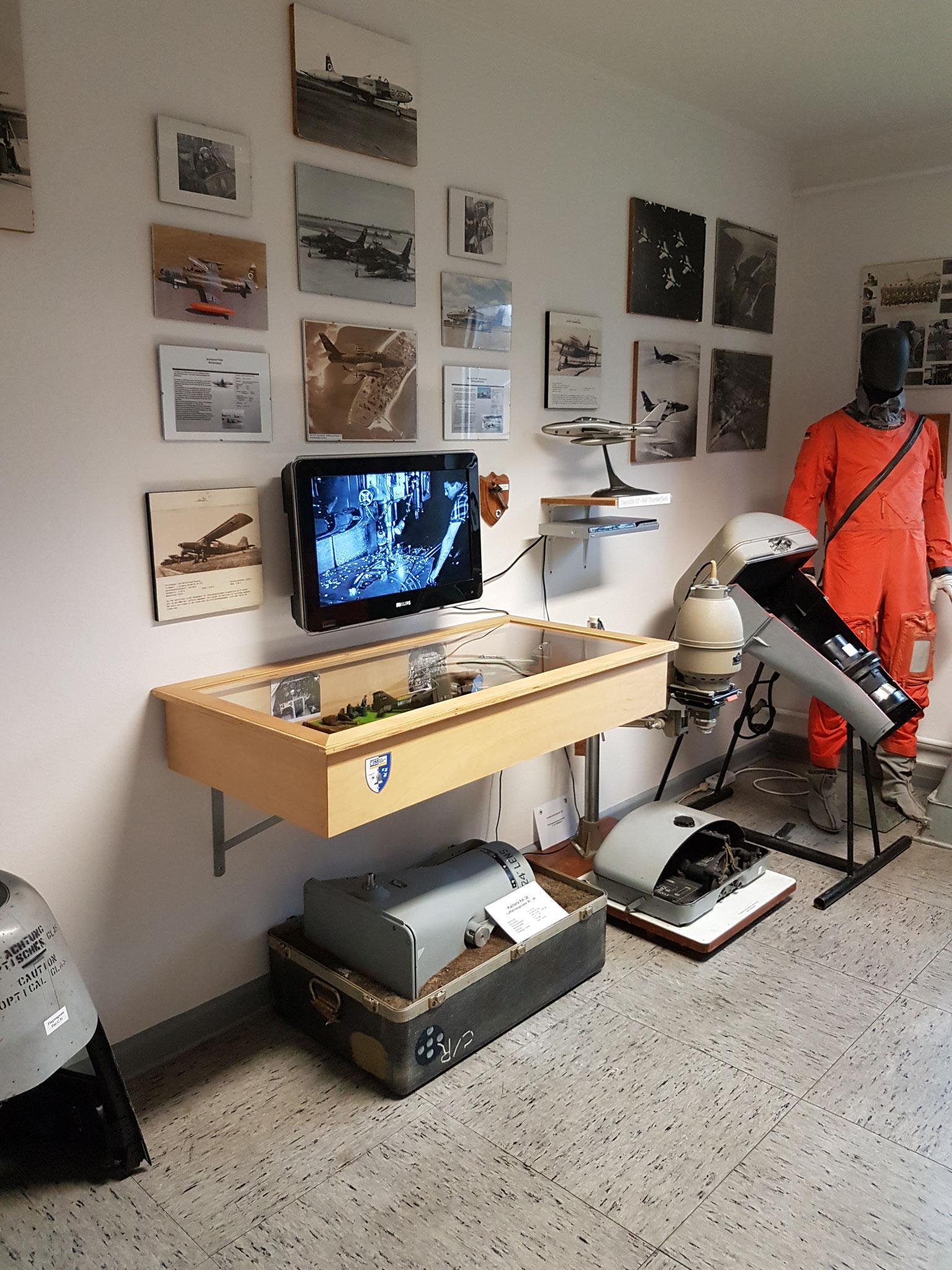 Ausstellungsabschnitt 6 - Die Geschichte der Taktischen Luftaufklärung bis 1993