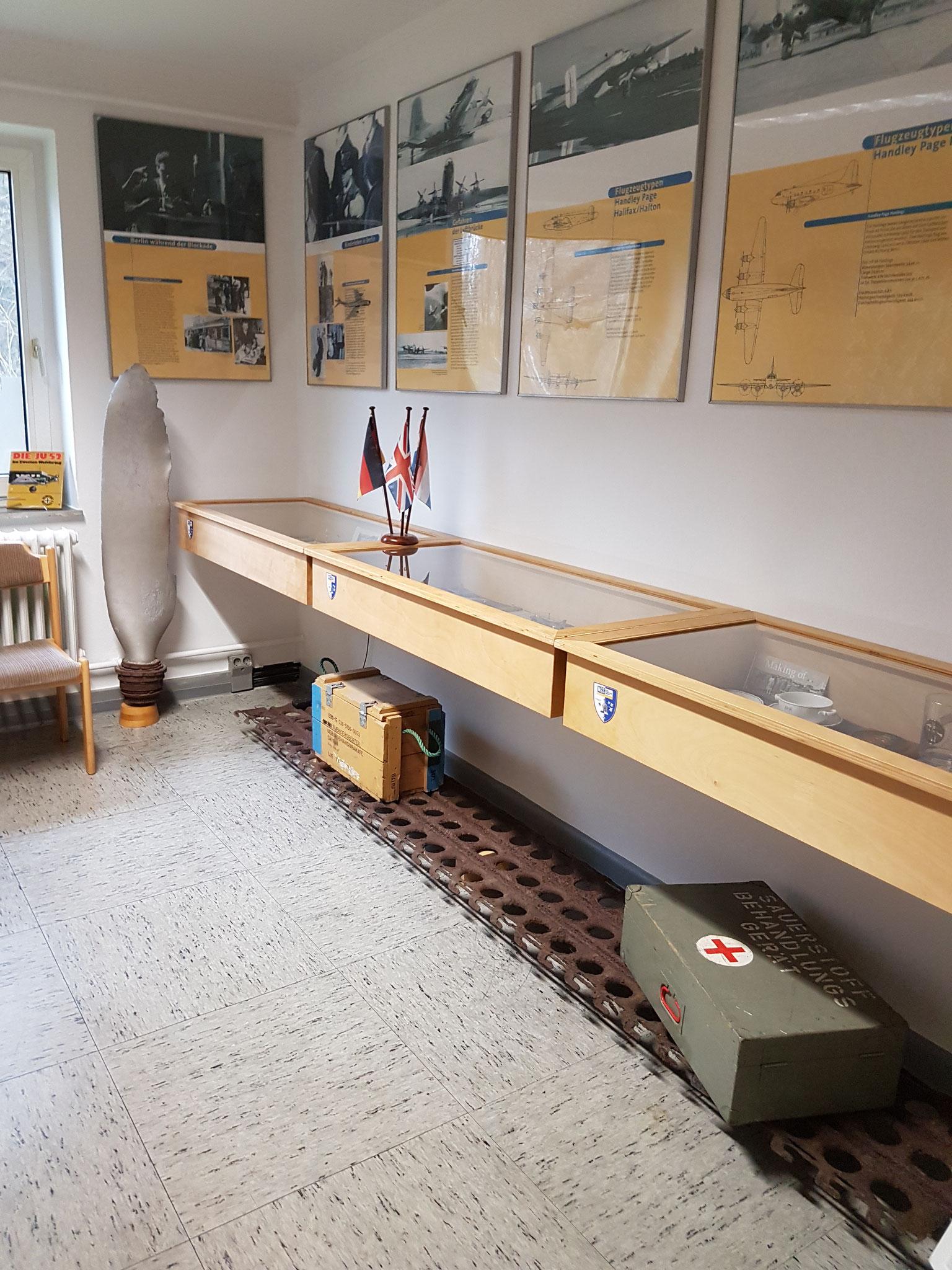 Ausstellungsabschnitt 5 - Die Luftbrücke