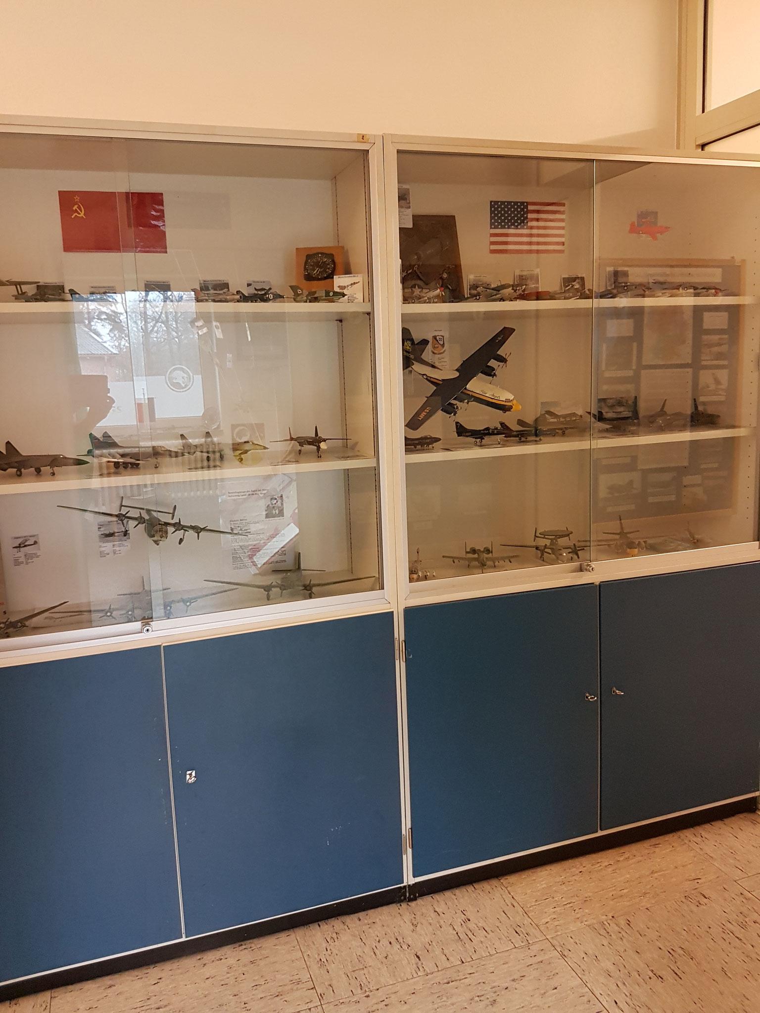 Flur - Ausstellung Kalter Krieg
