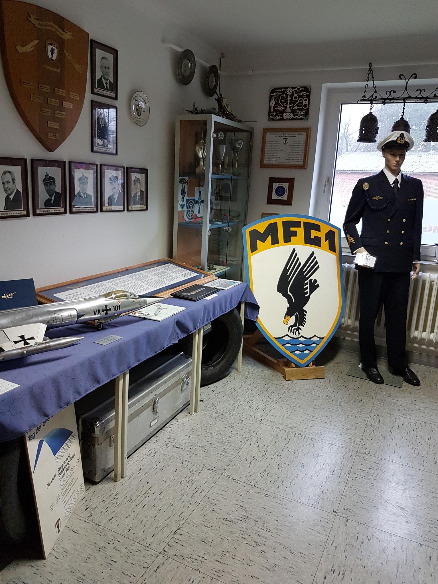 Ausstellungsabschnitt 10 - Das Marinefliegergeschwader 1