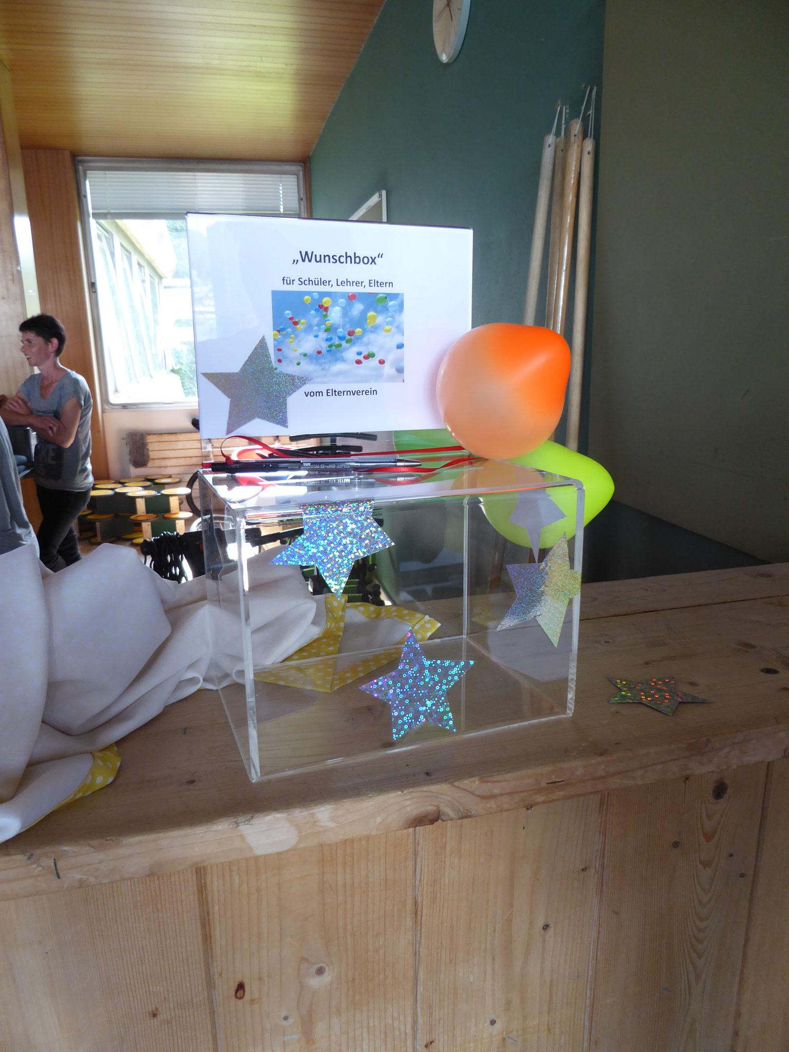 Überraschung - Wunschbox - für Schüler, Lehrer, Eltern