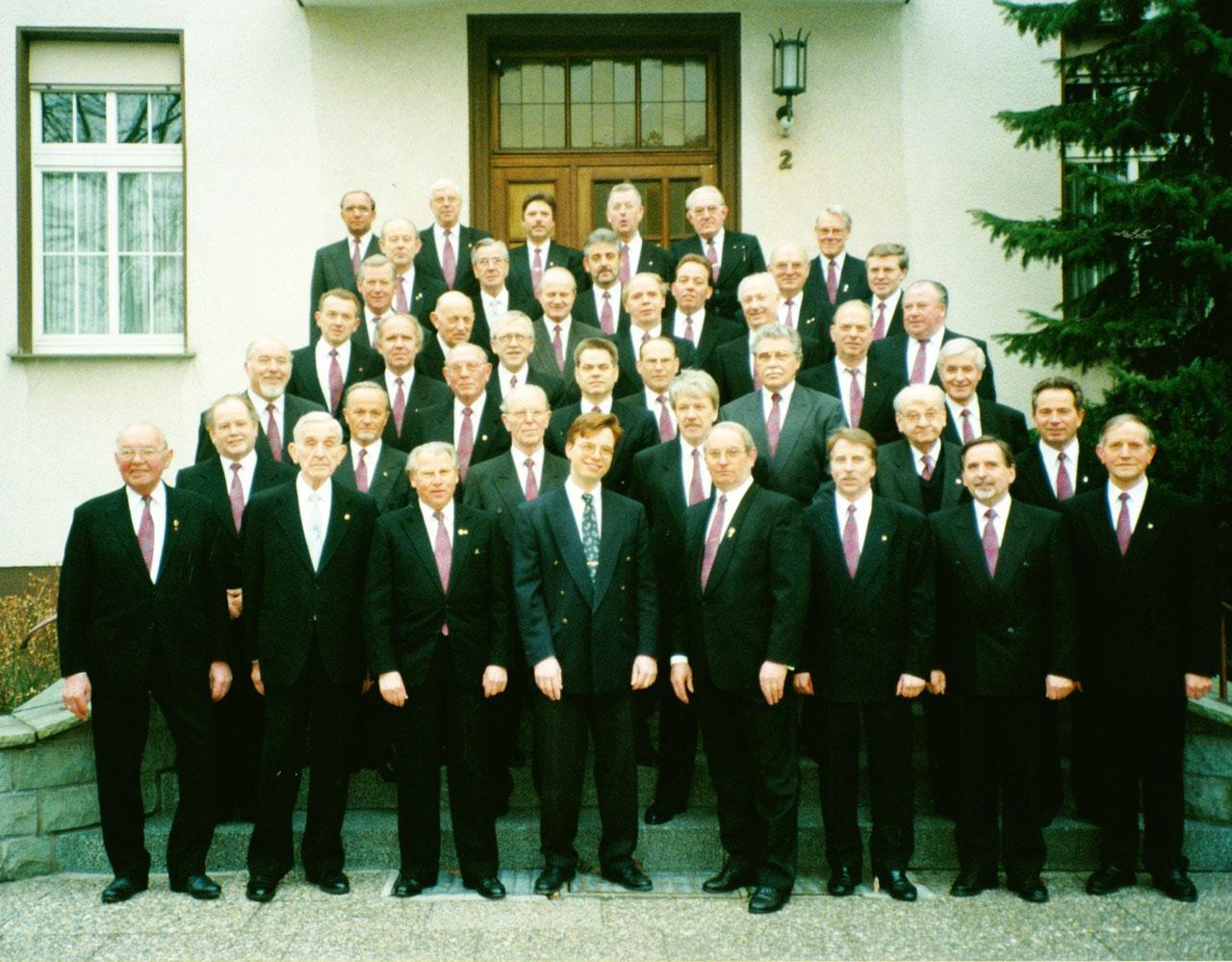 5. Meisterchor 1997 Attendorn,  Foto März 1996 Pfarrhaus St. Petri Hüsten