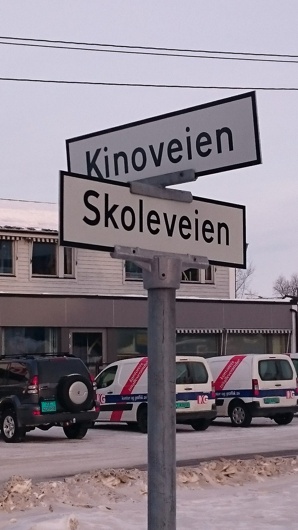 Noch Fragen? Norwegisch ist doch nicht so schwer wie gedacht.