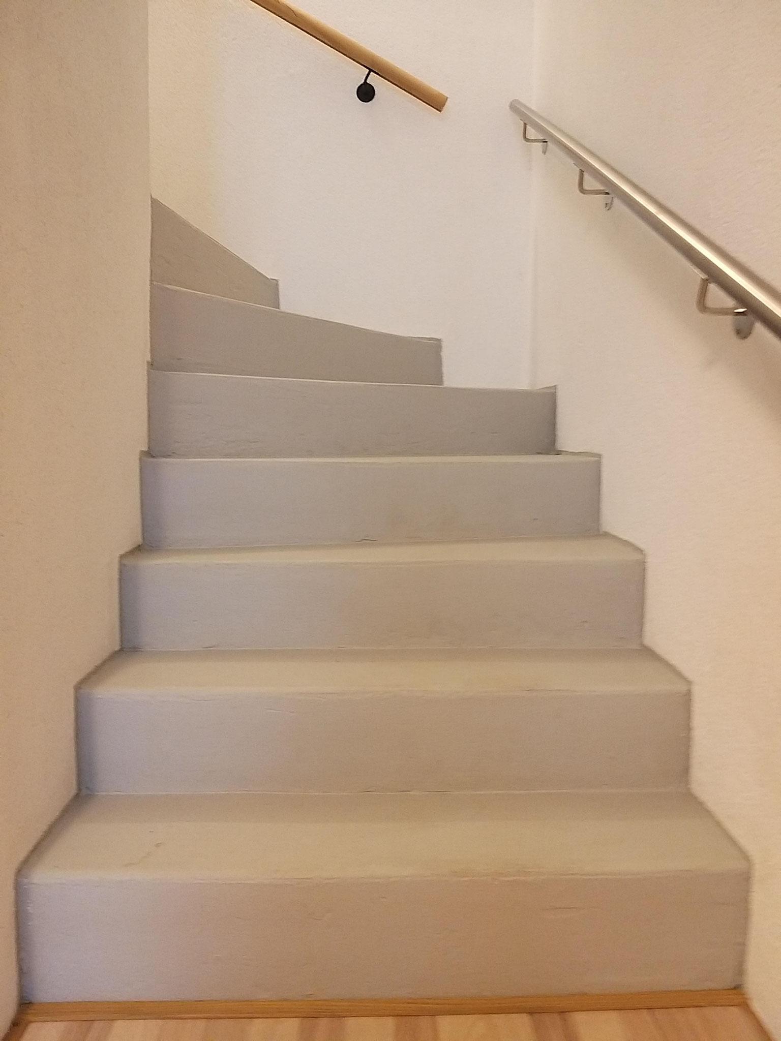 Antirutschfarbe Treppe Safekote Telegrau 4 - © Voser-s-Fugen