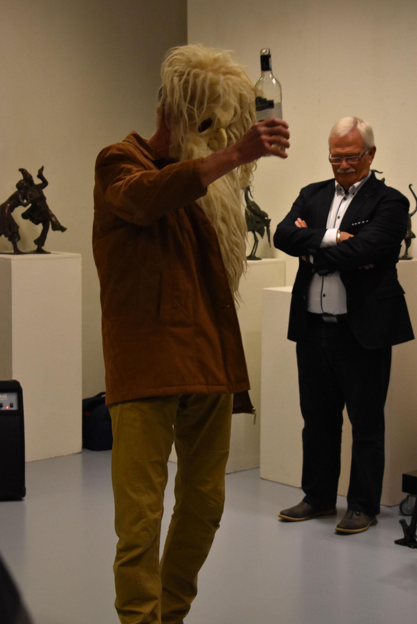 Opening door Frans Krom