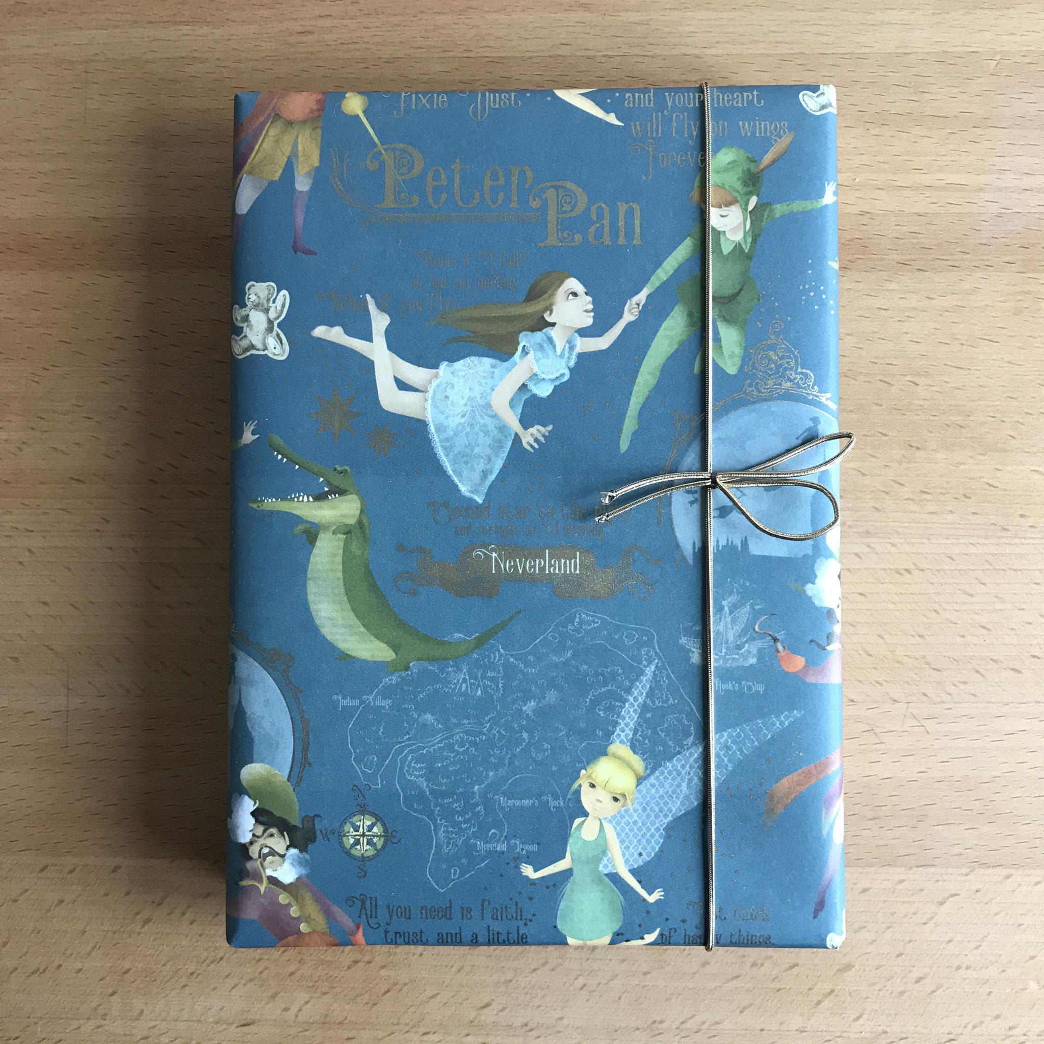 Als Geschenk verpackt (Peter Pan)