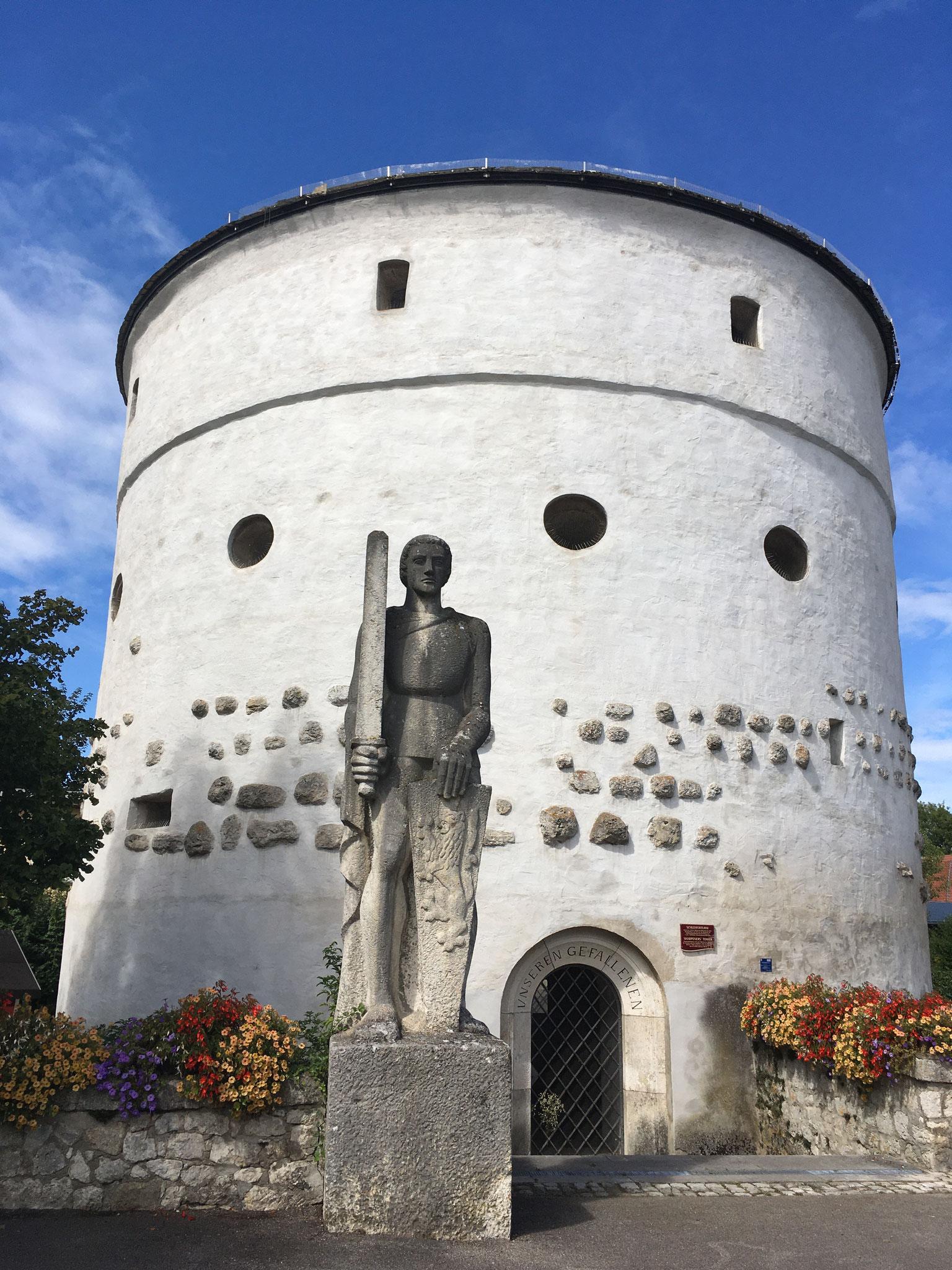 Römerturm Kelheim, © Tourismusverband Ostbayern e.V., Claudia Schaftner