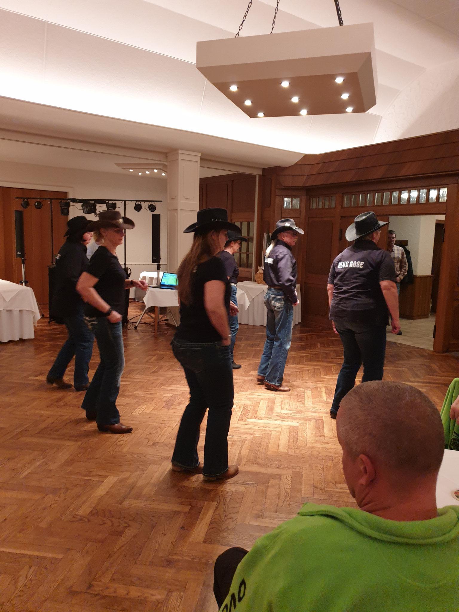 Line Dance Gruppe  aus Bramsche