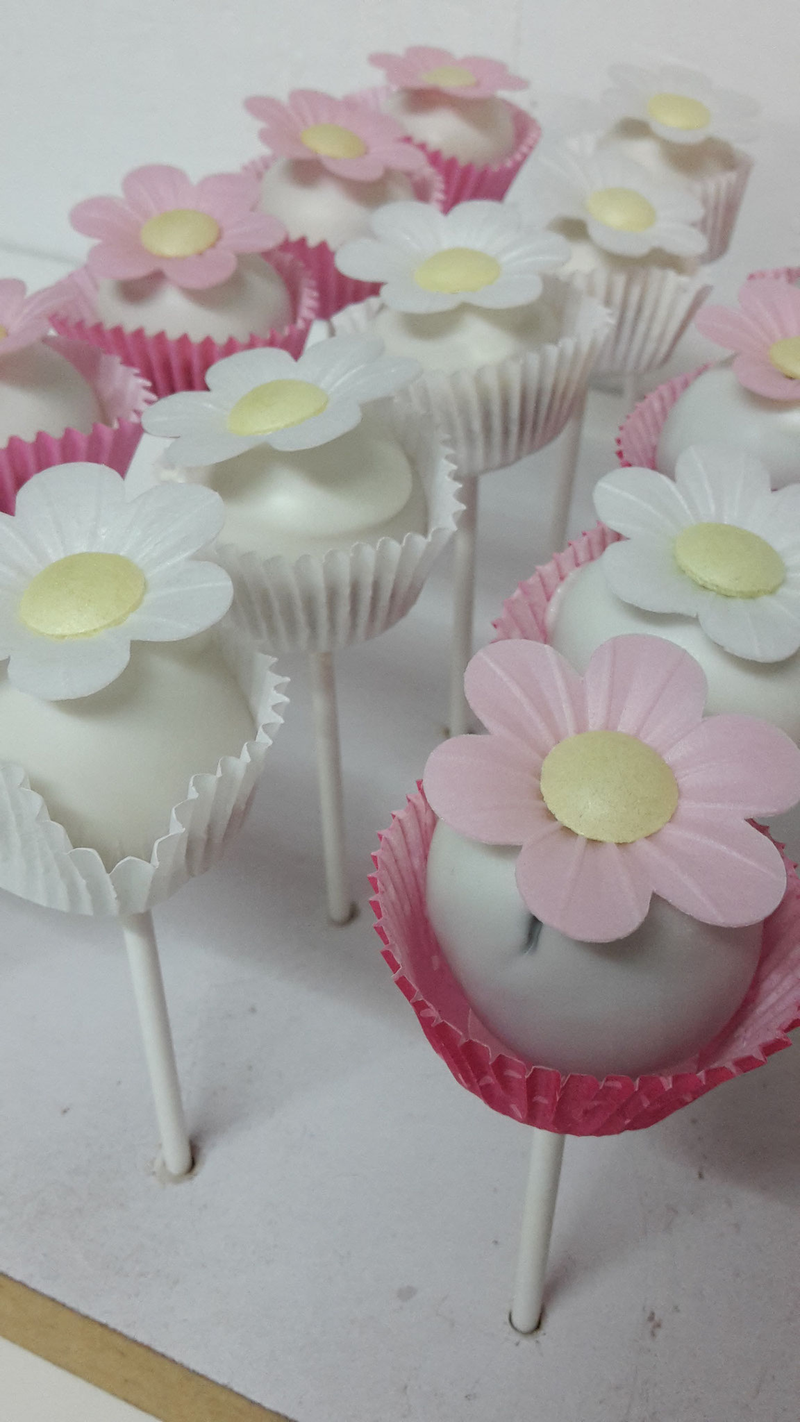 Frühlings cake pops