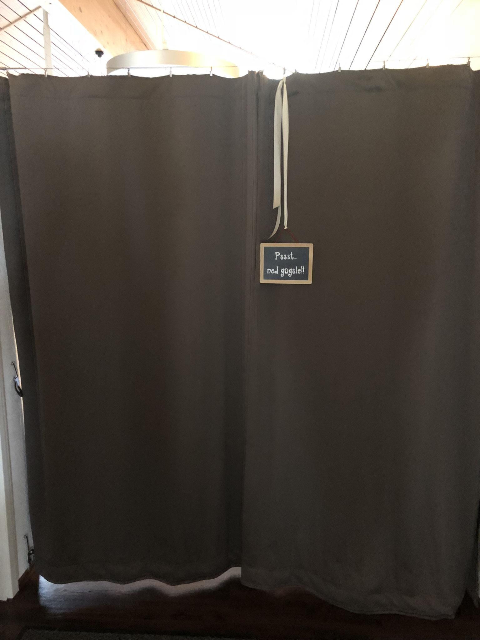 Eingang Eventraum - Garderobe/WC