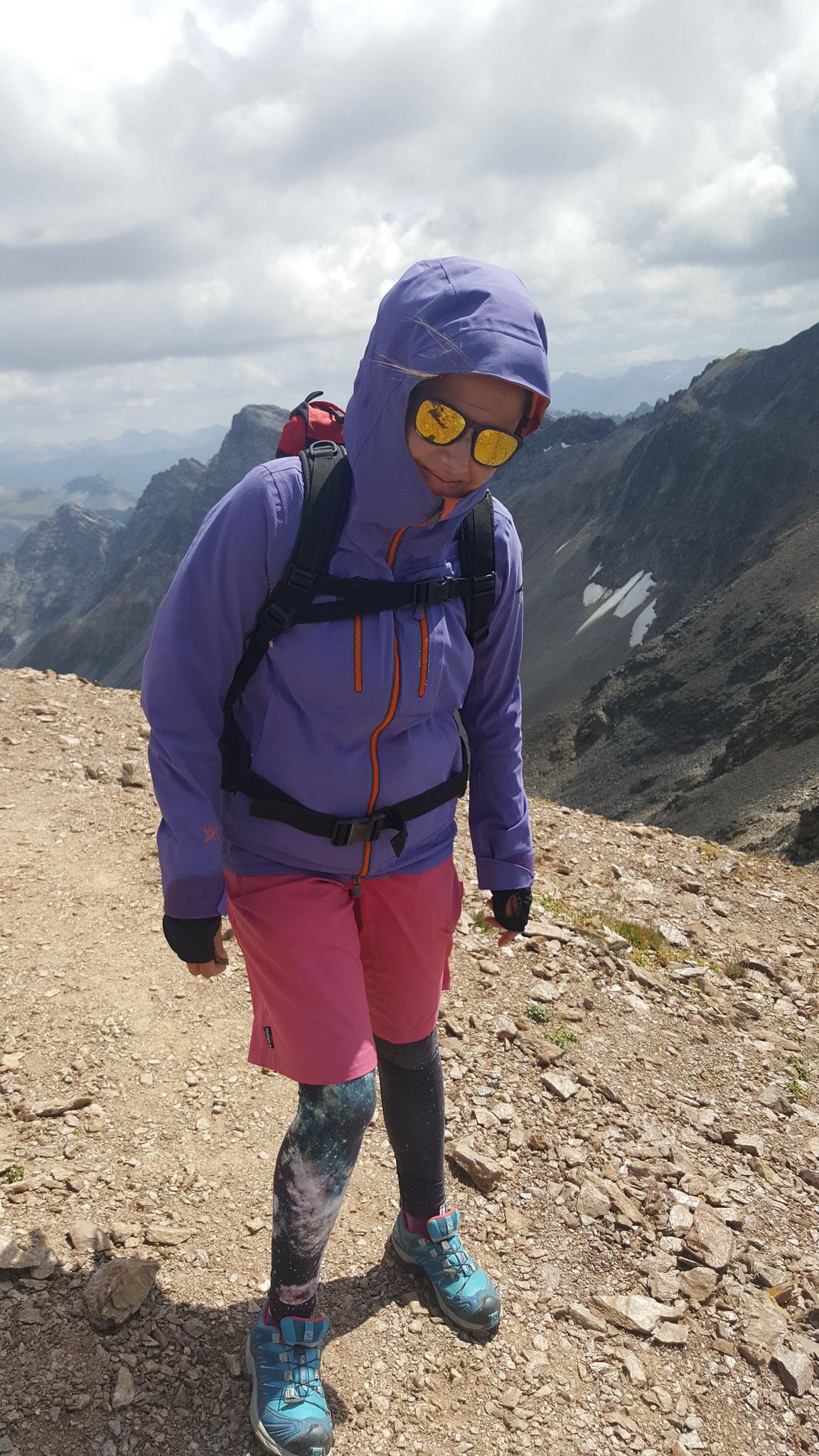 Katja, ist sehr aktiv und immer mit guter Laune.