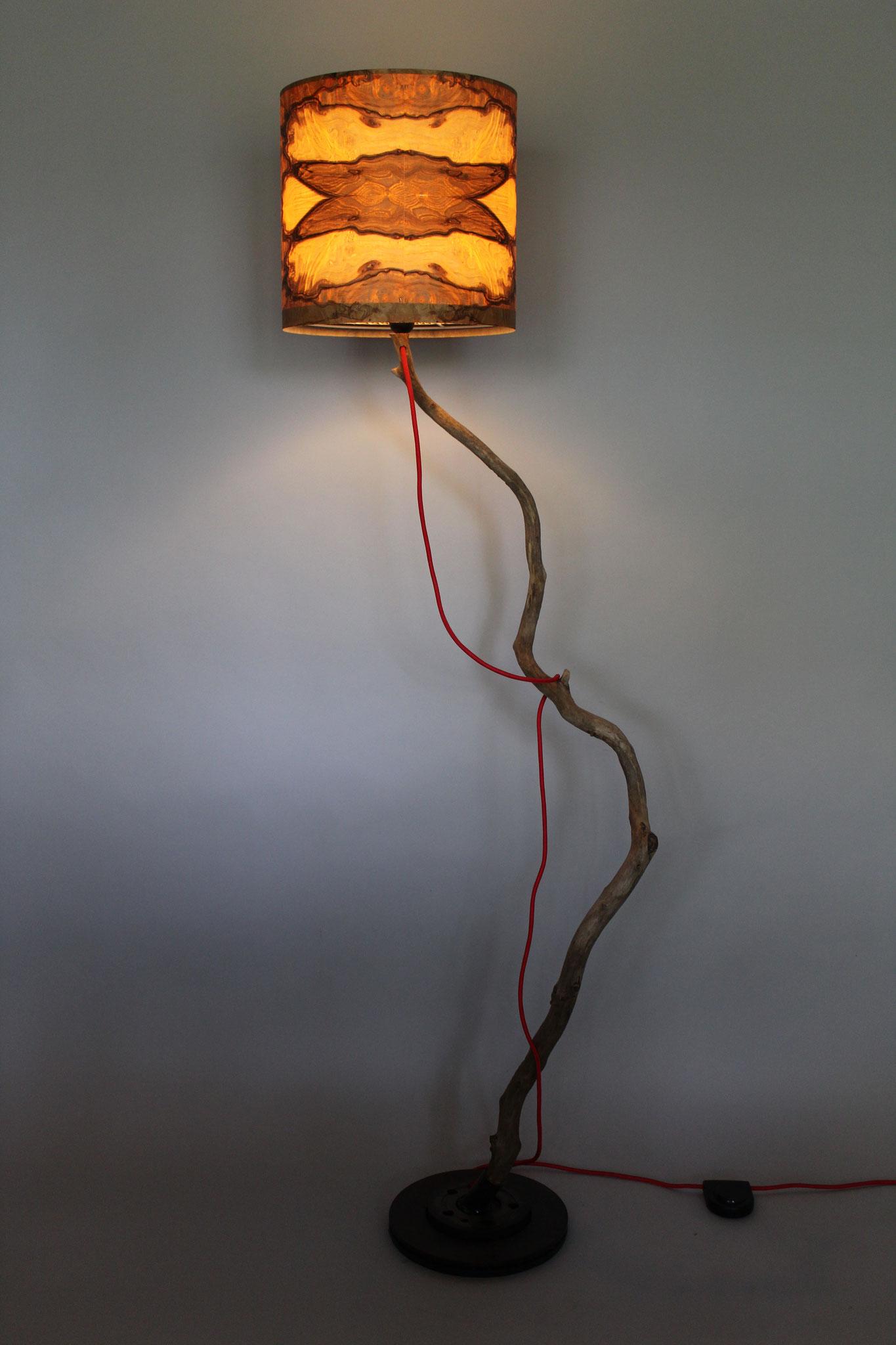 Upcycling Stehlampe Fulgur II