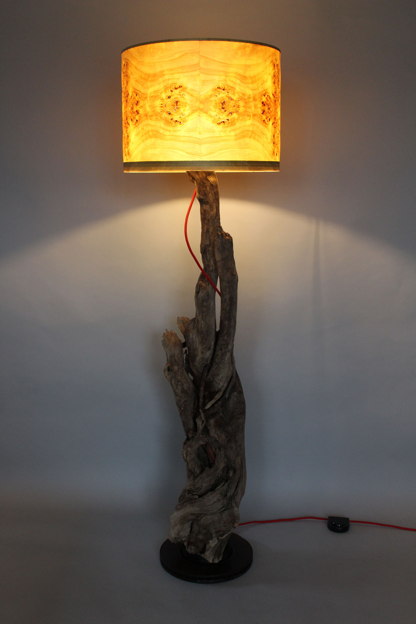Upcycling Stehlampe Nanus