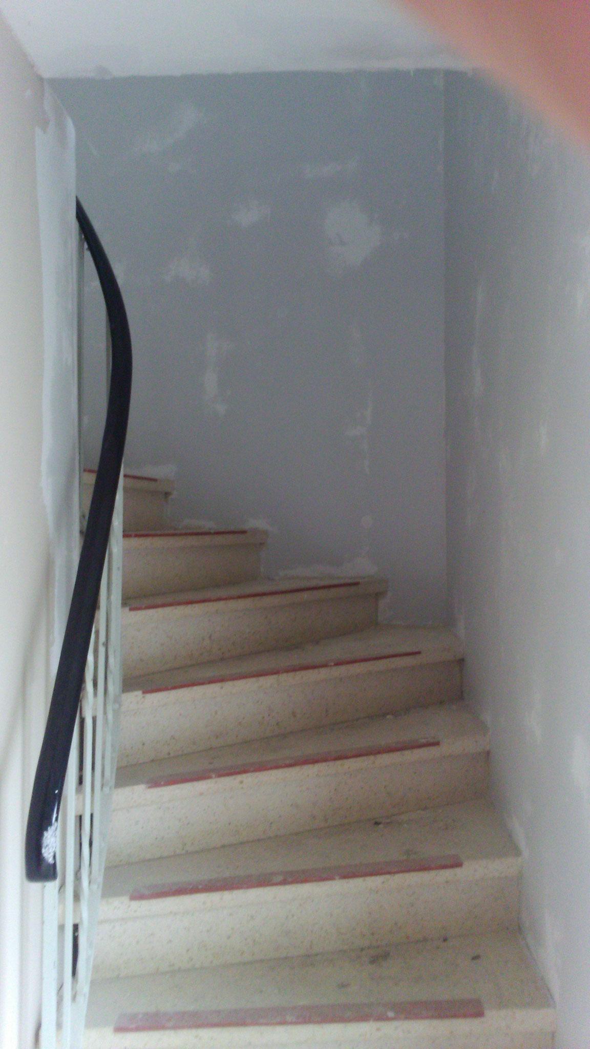 Aufgang zum Obergeschoss wurde überarbeitet