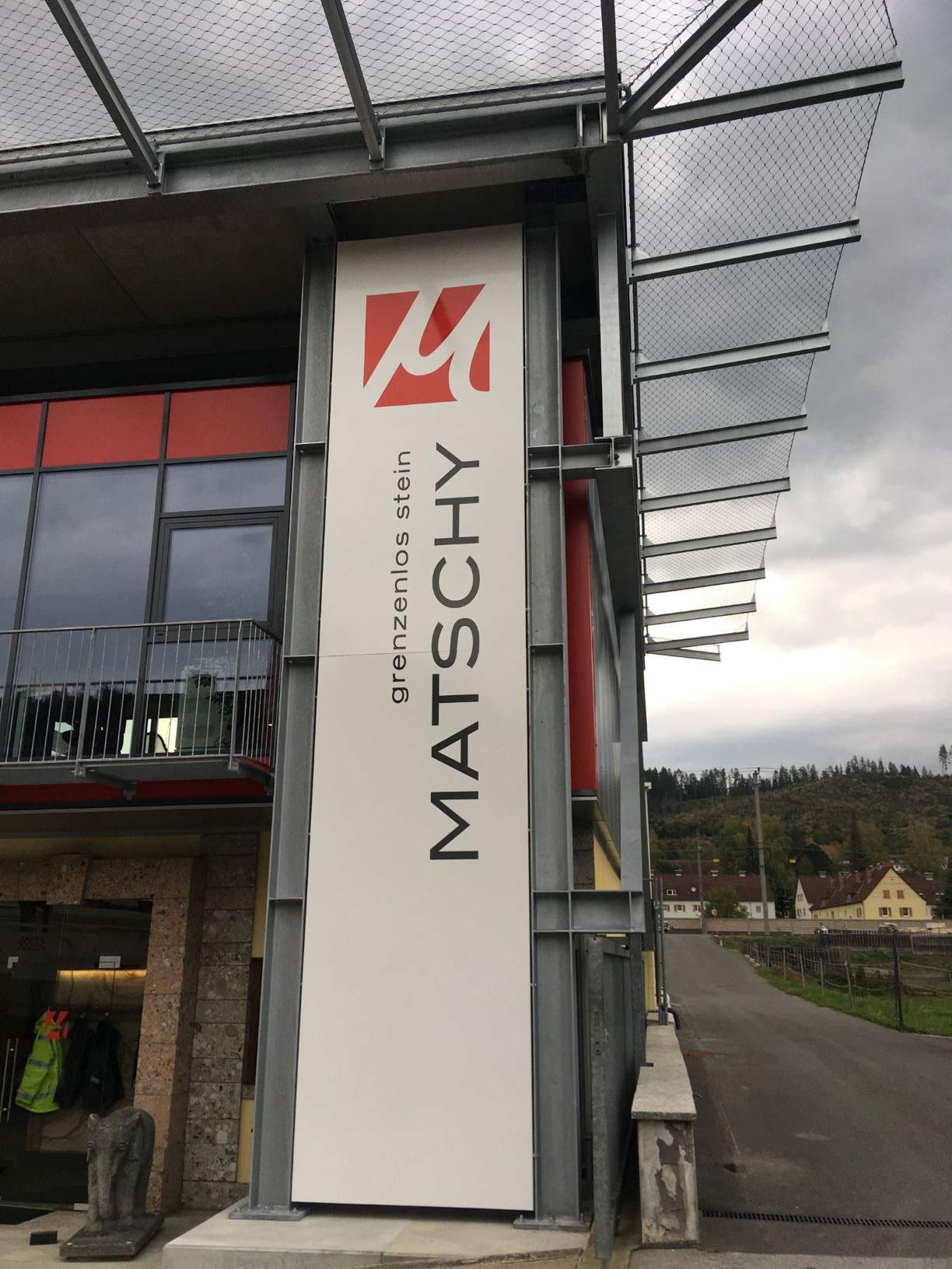 Marken-Schärfung Matschy GmbH [grenzenlos stein]