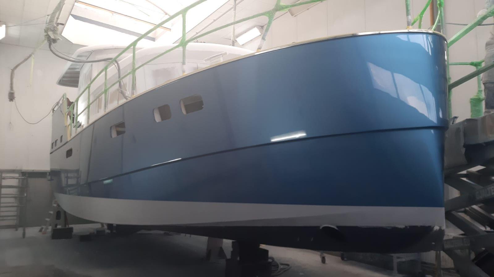 Aquanaut 400 AC/PH Lackierung Alexeal Dolphine Blue
