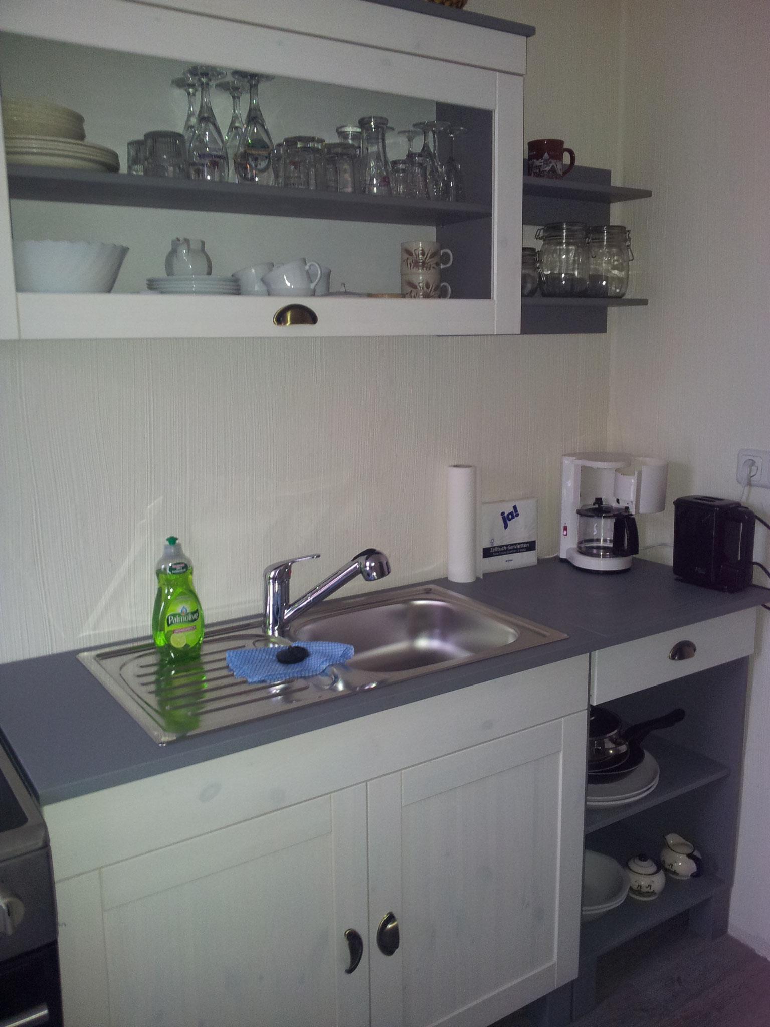 Doppelzimmer Nr. 5 - Eigene Küche