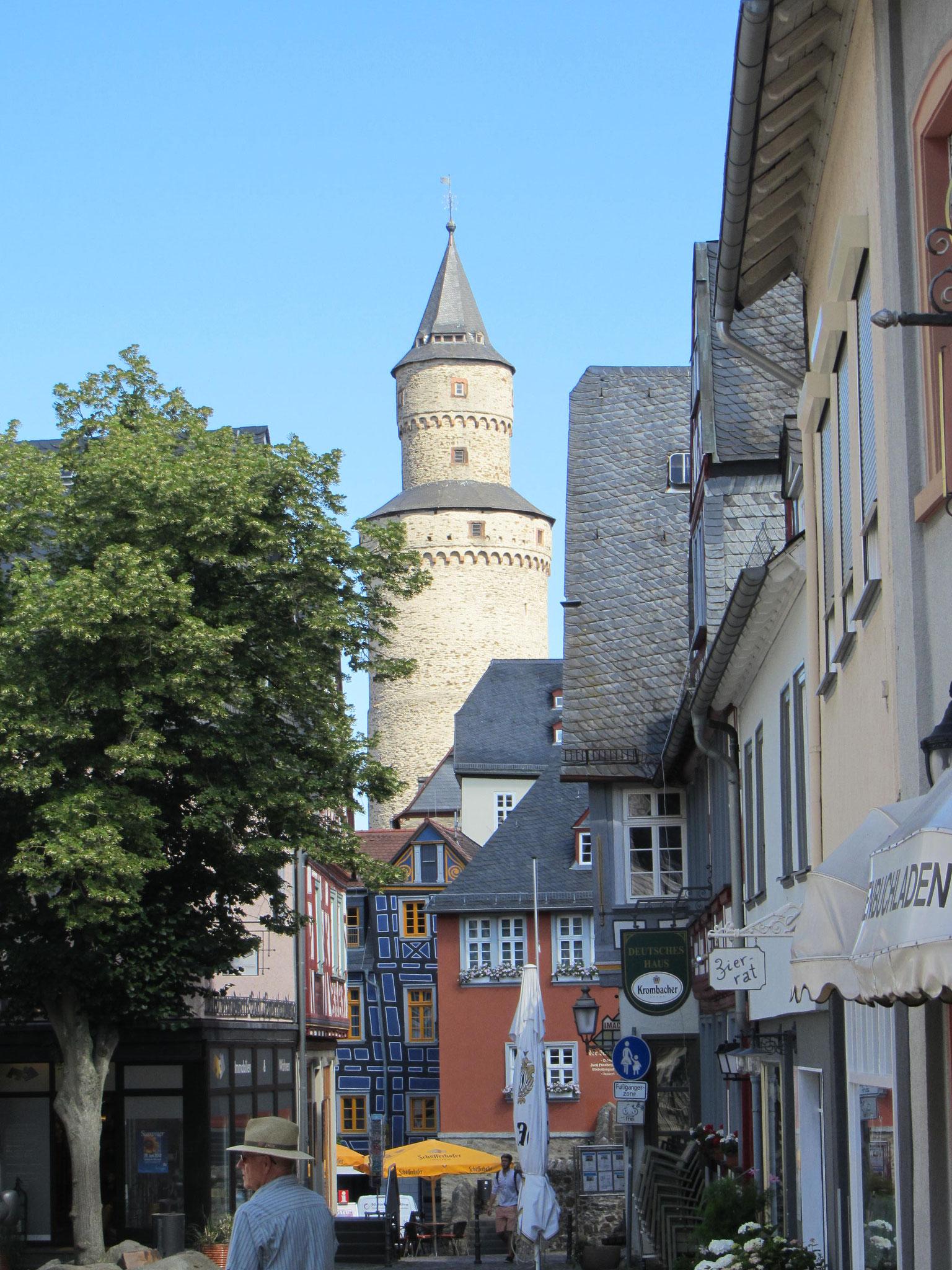 Blick zum Hexenturm